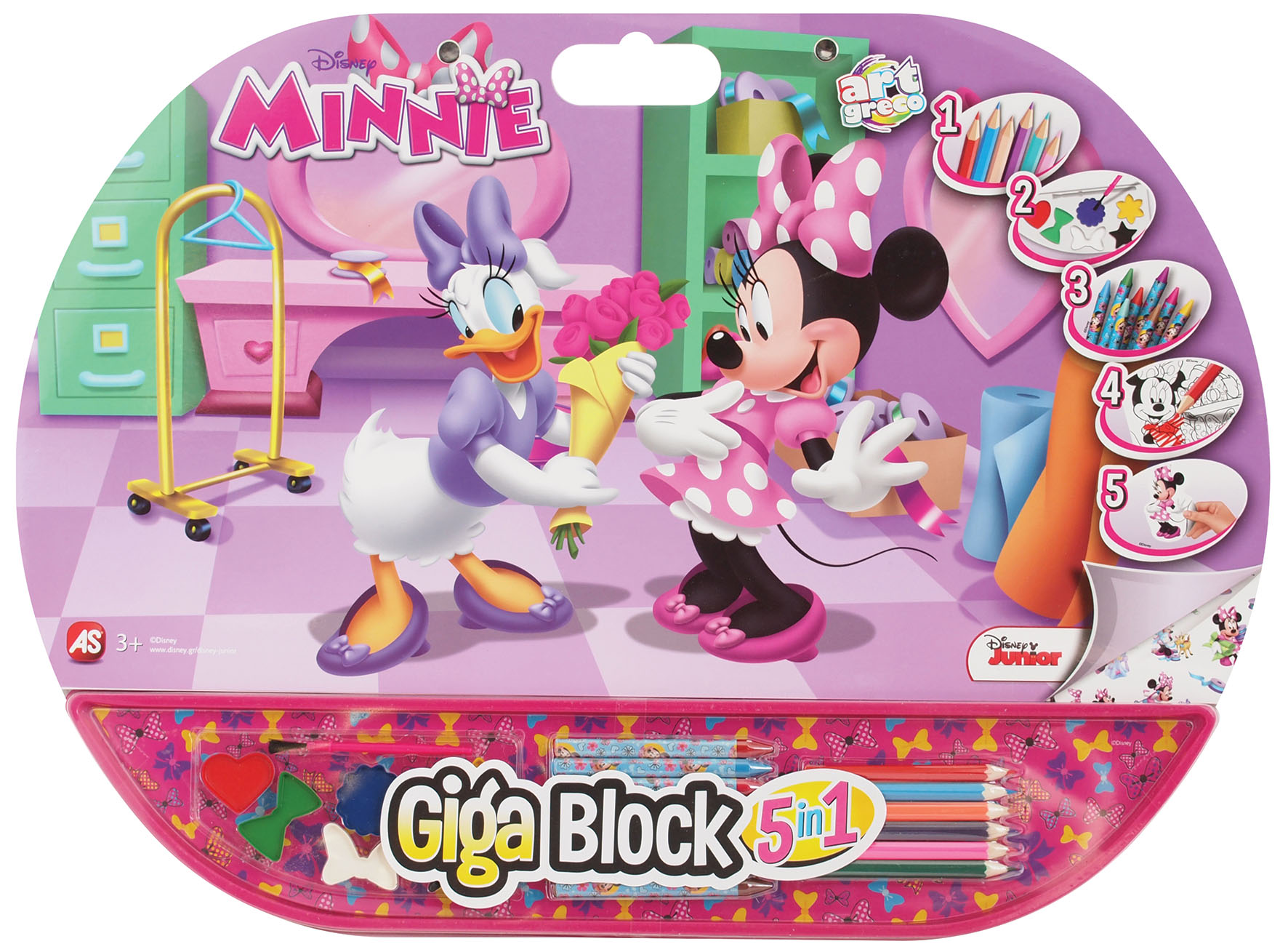 GIGA BLOCK MINNIE 5 IN 1
