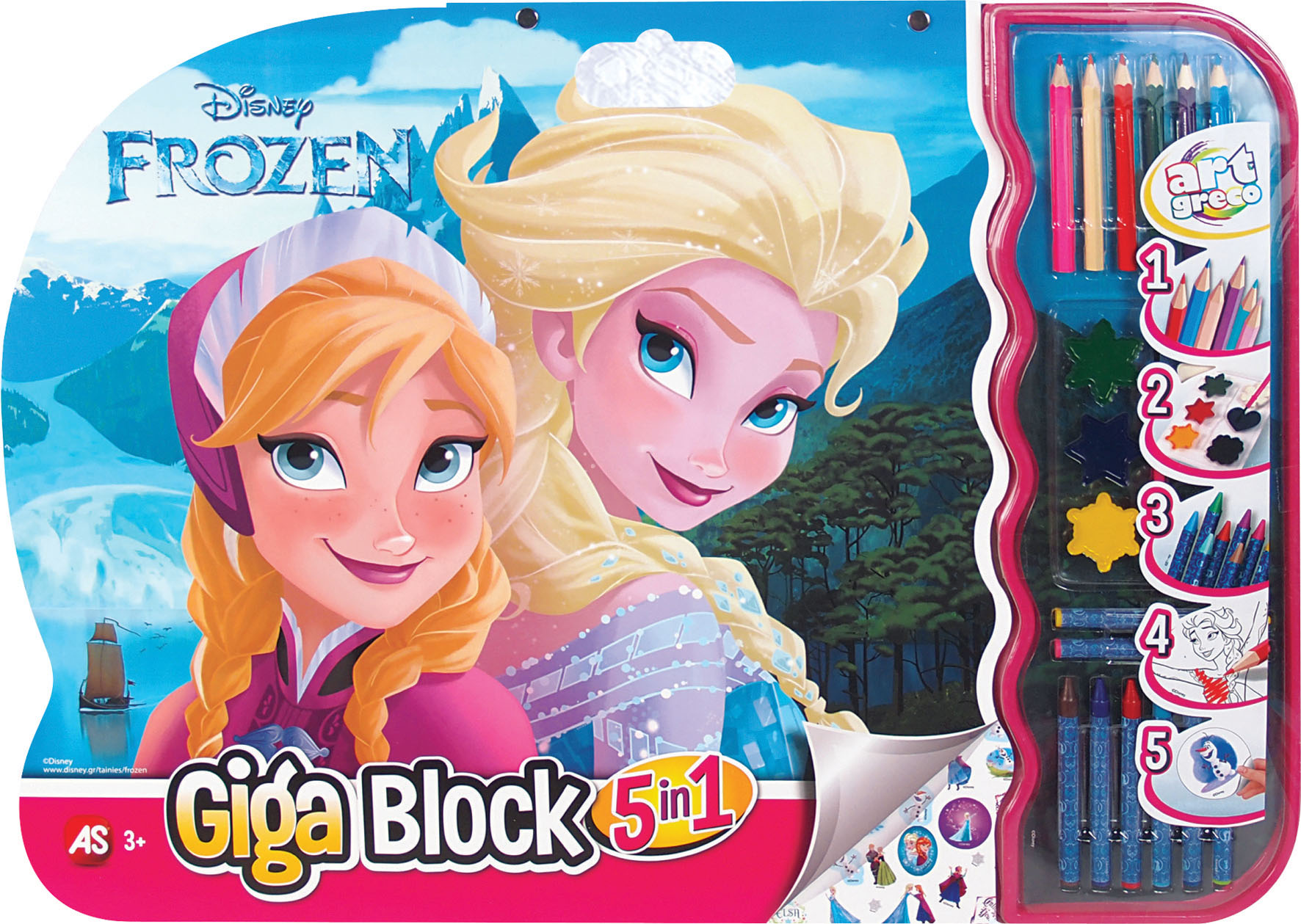 GIGA BLOCK FROZEN 5 IN 1