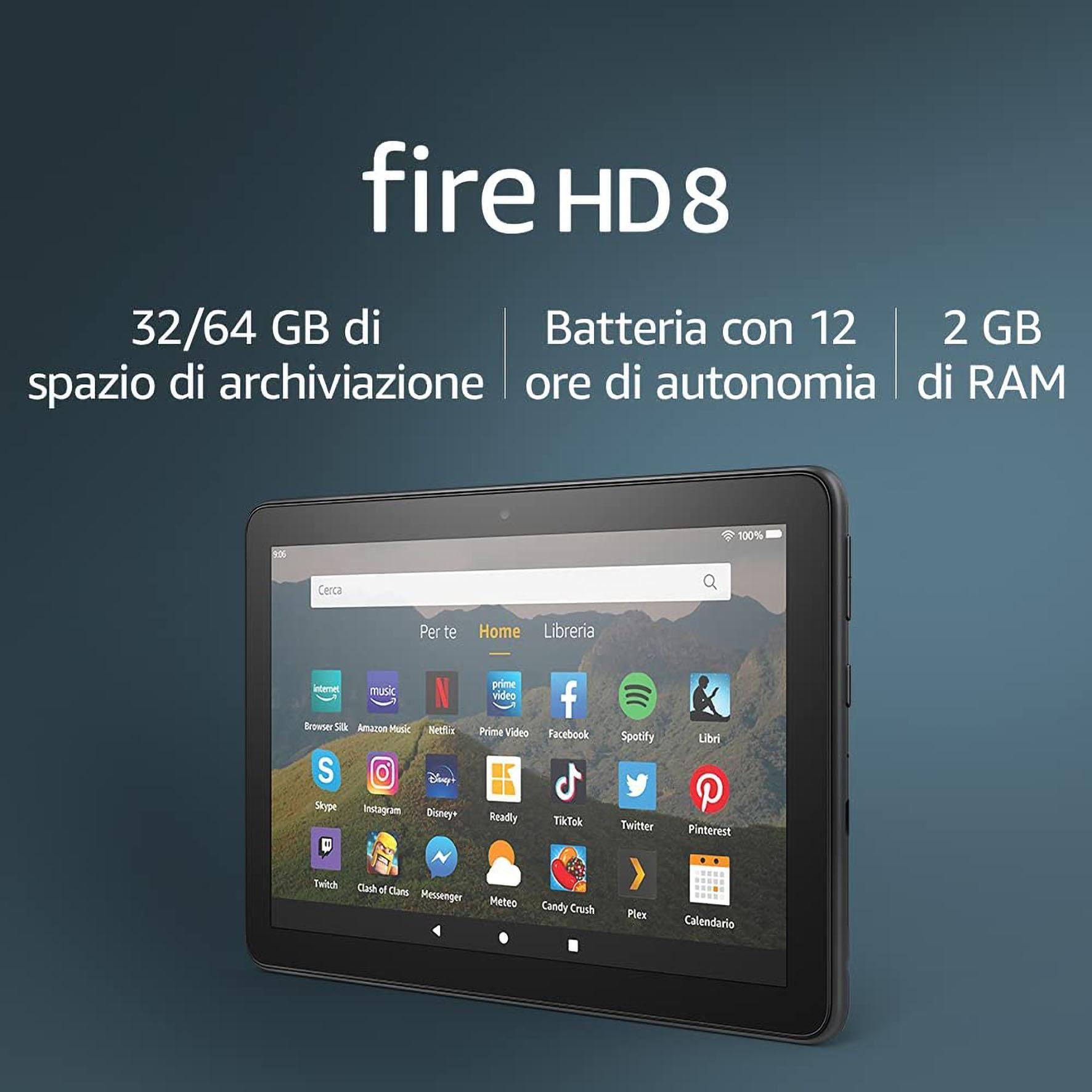 TABLET FIRE HD 8 AMAZON 32GB