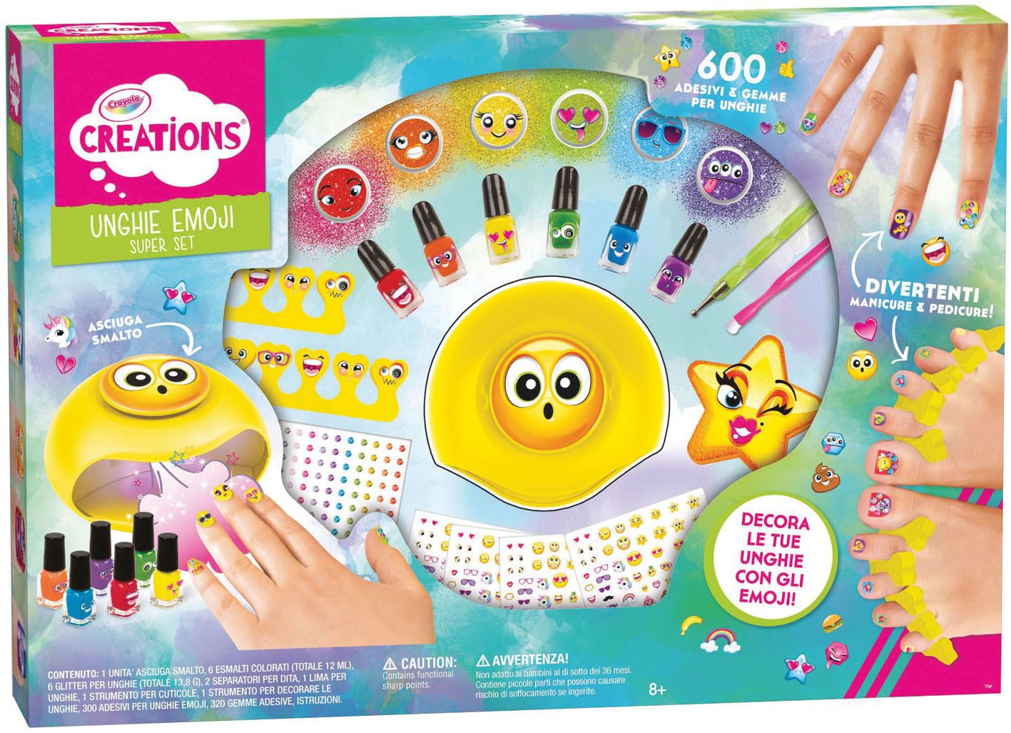 EMOJI STICKER SUPER SET CREAT