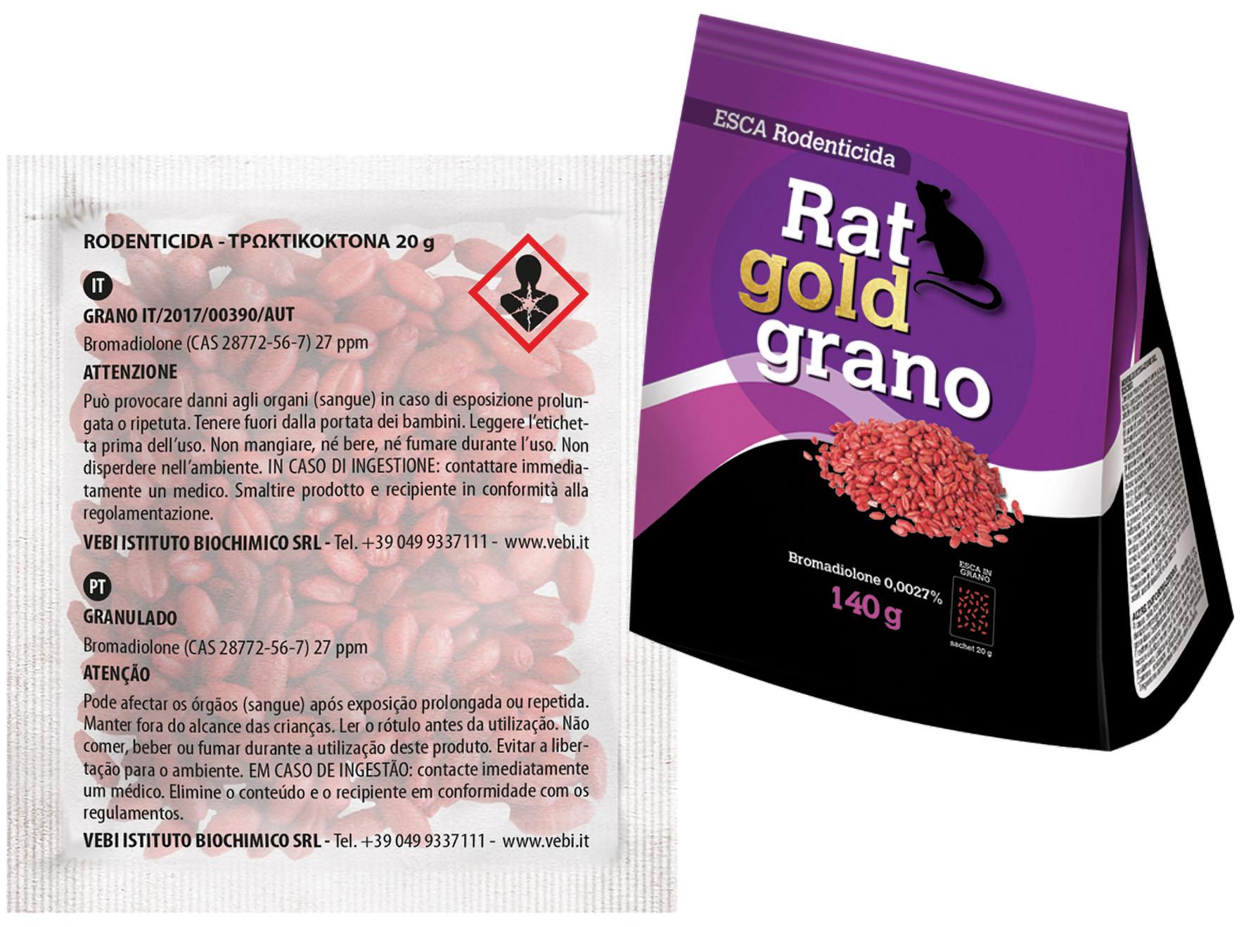ESCA RAT GOLD GRANO 140 GR