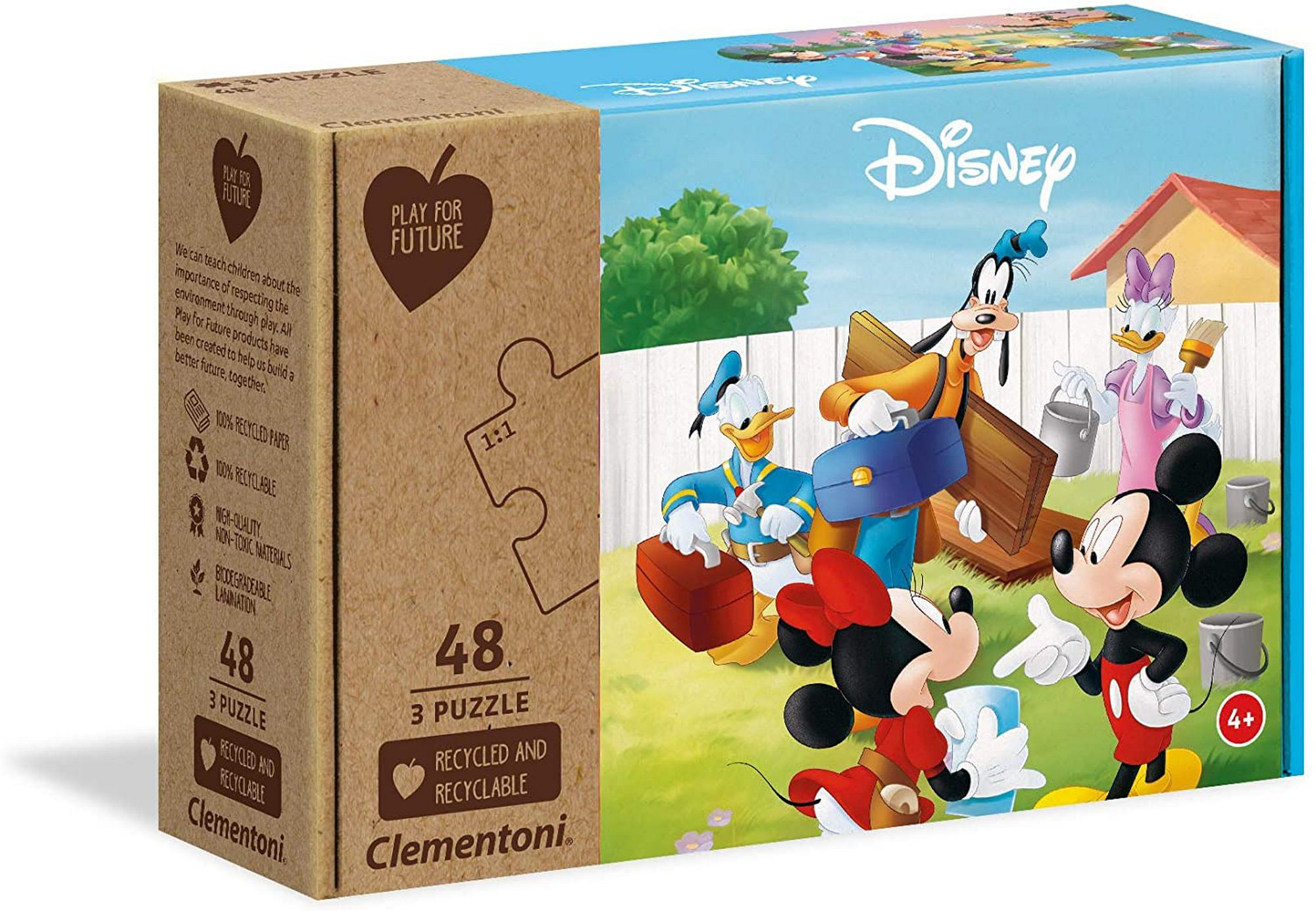 PUZZLE 3X48 MICKEY MOUSE PFF
