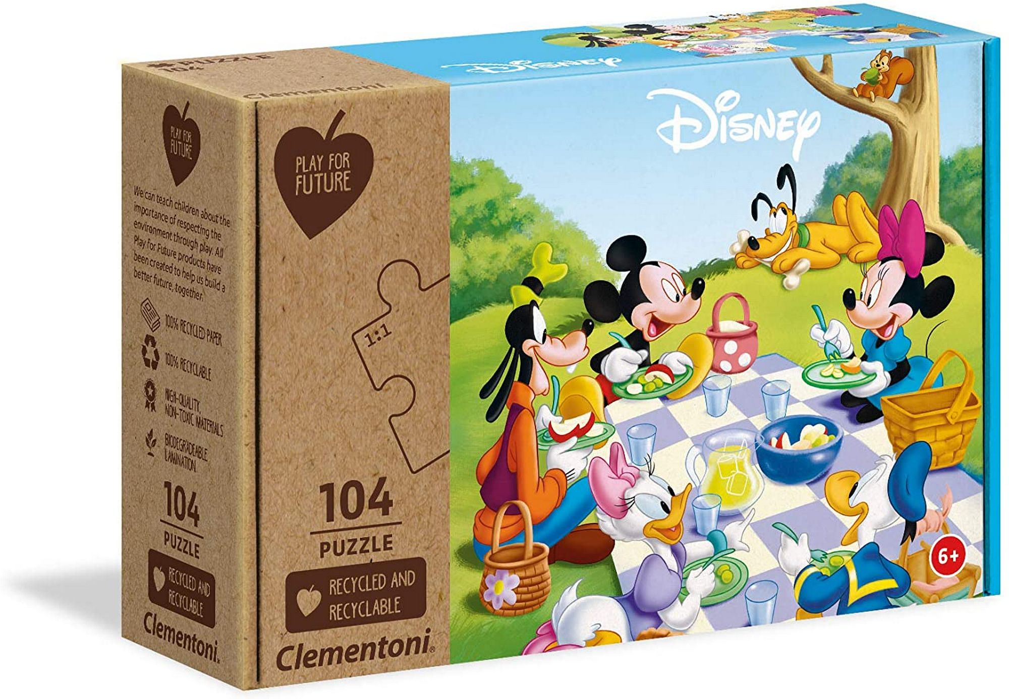 PUZZLE 104 MICKEY MOUSE PFF