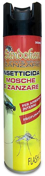INSETTICIDA ZANZ MOSCHE ML400