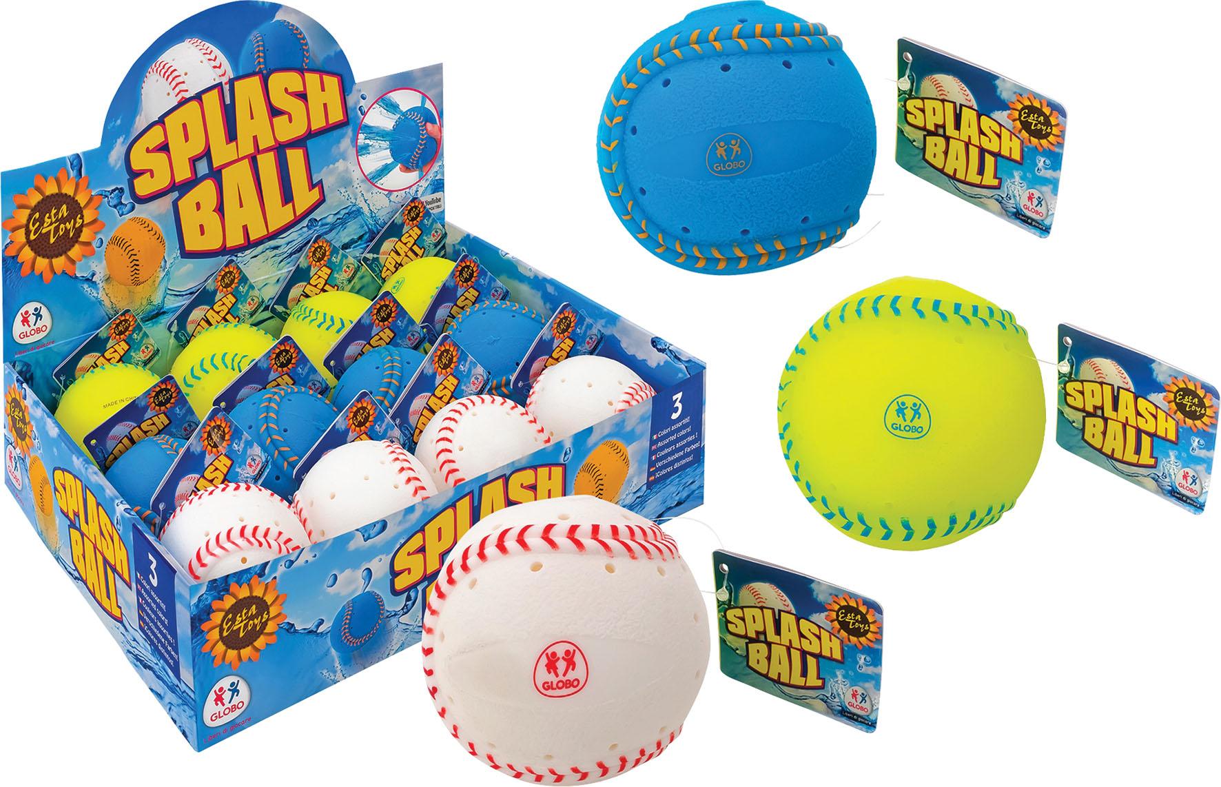 PALLA BASEBALL SPLASH 8CM DISP