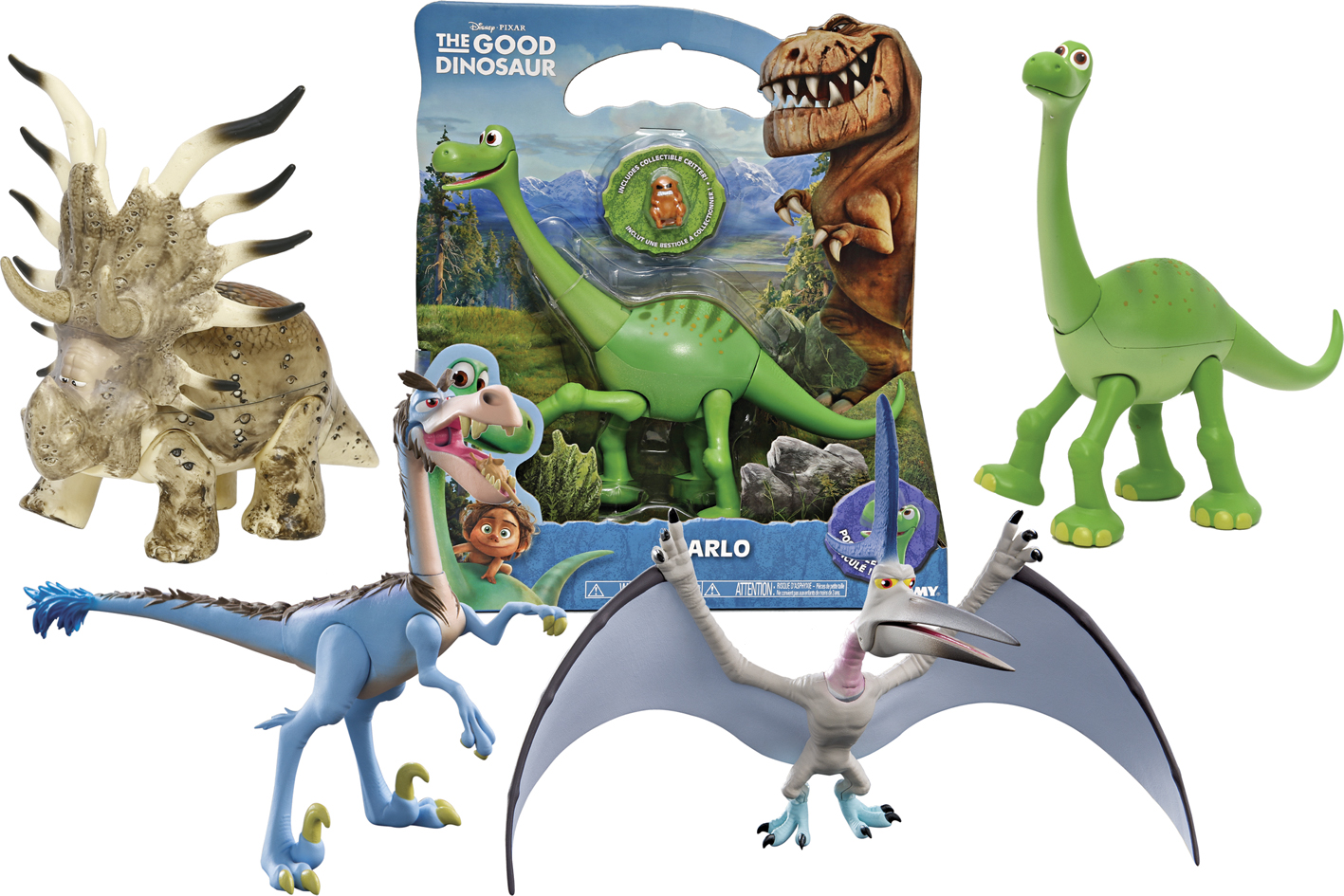 GOOD DINOSAURS PERS DELUXE
