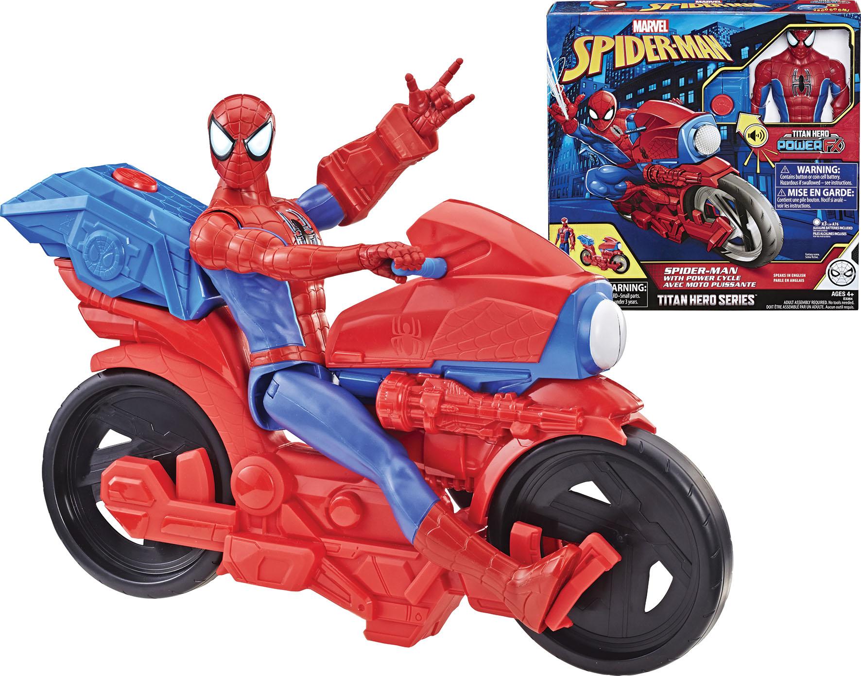 SPIDERMAN CM 30 ELETTR C MOTO
