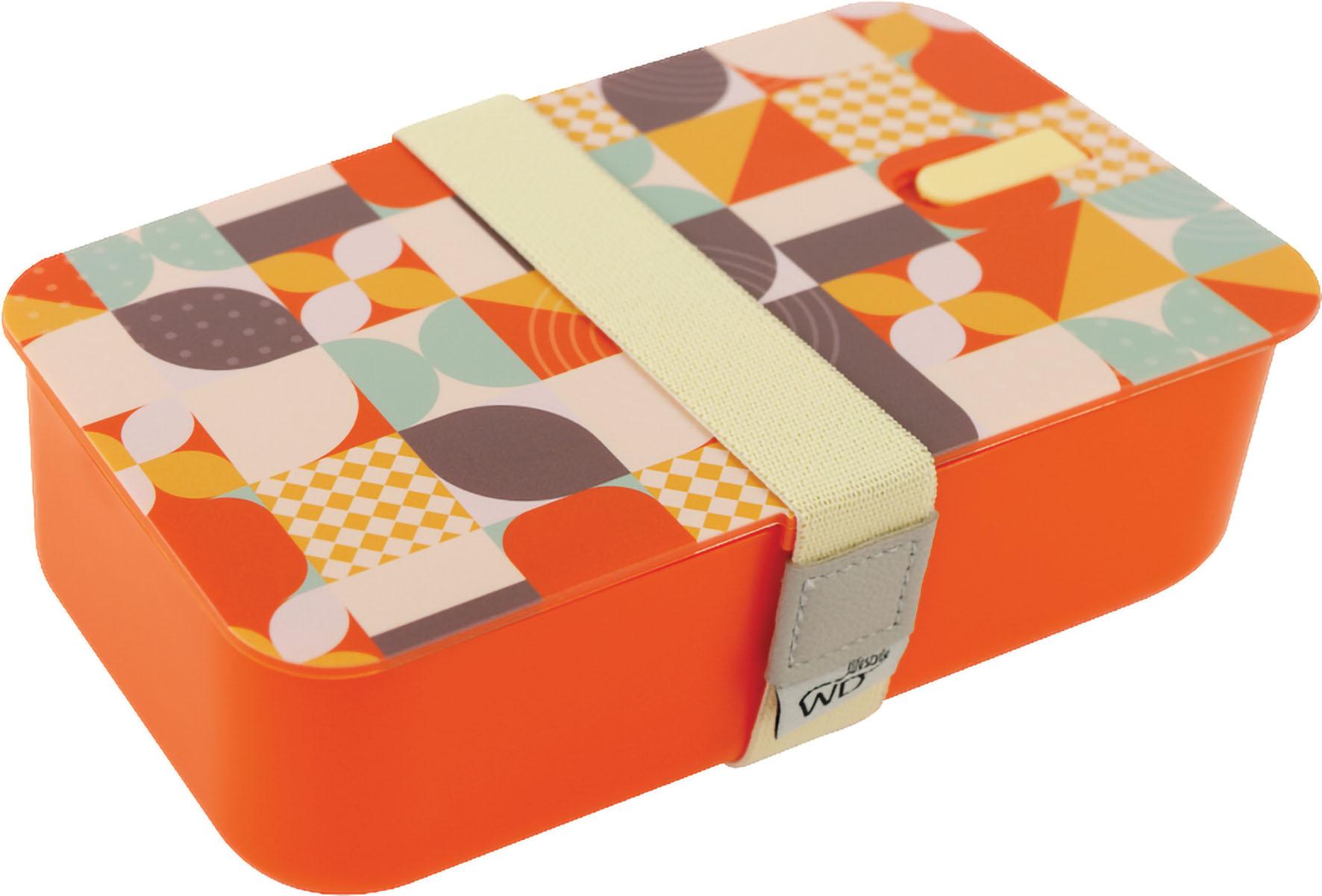 LUNCH BOX ARANCIO 1 LT C COP