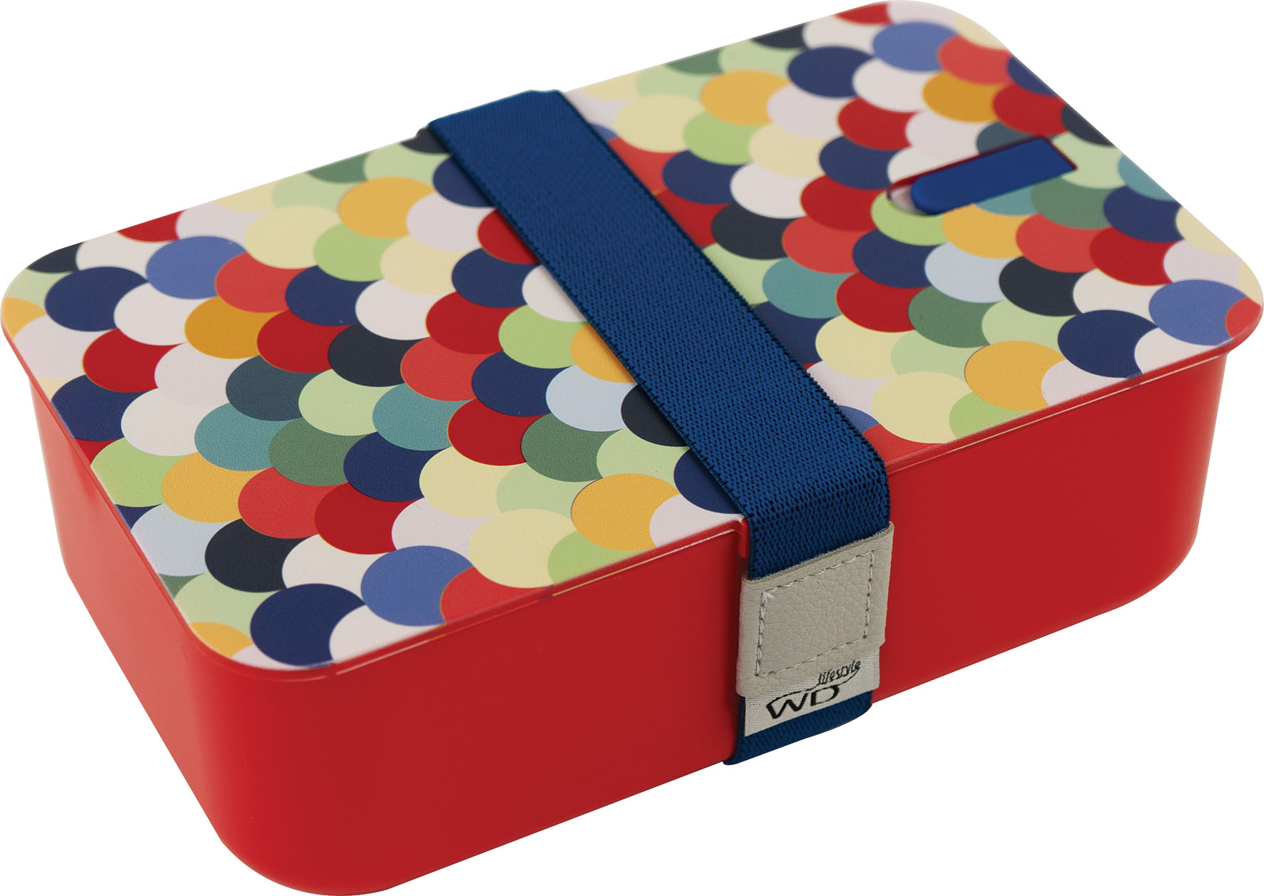 LUNCH BOX ROSSO   1 LT C COP