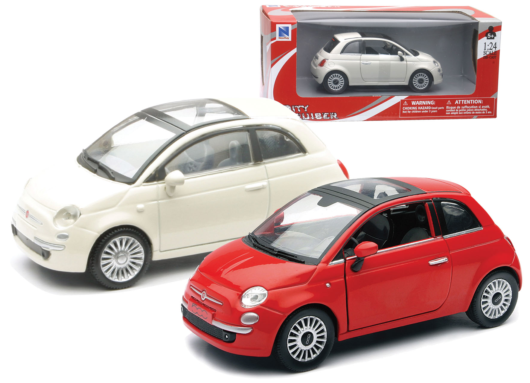 D C FIAT 500 2 ASS  1 24
