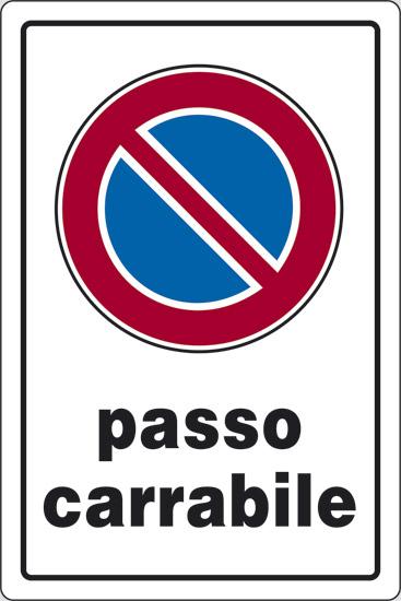 CART  PASSO CARRABILE  30X20PL