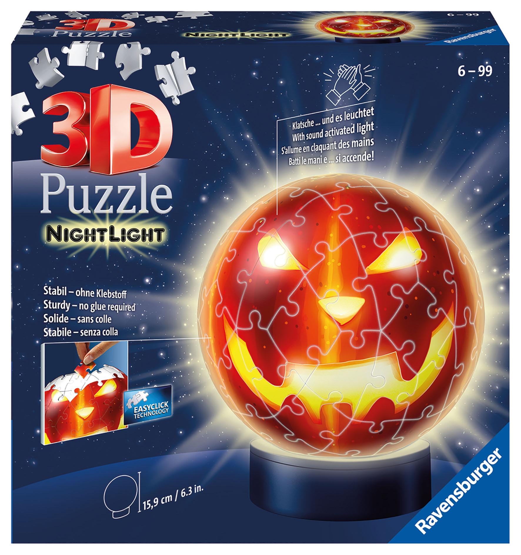 PUZZLE 3D ZUCCA HALLOWEEN