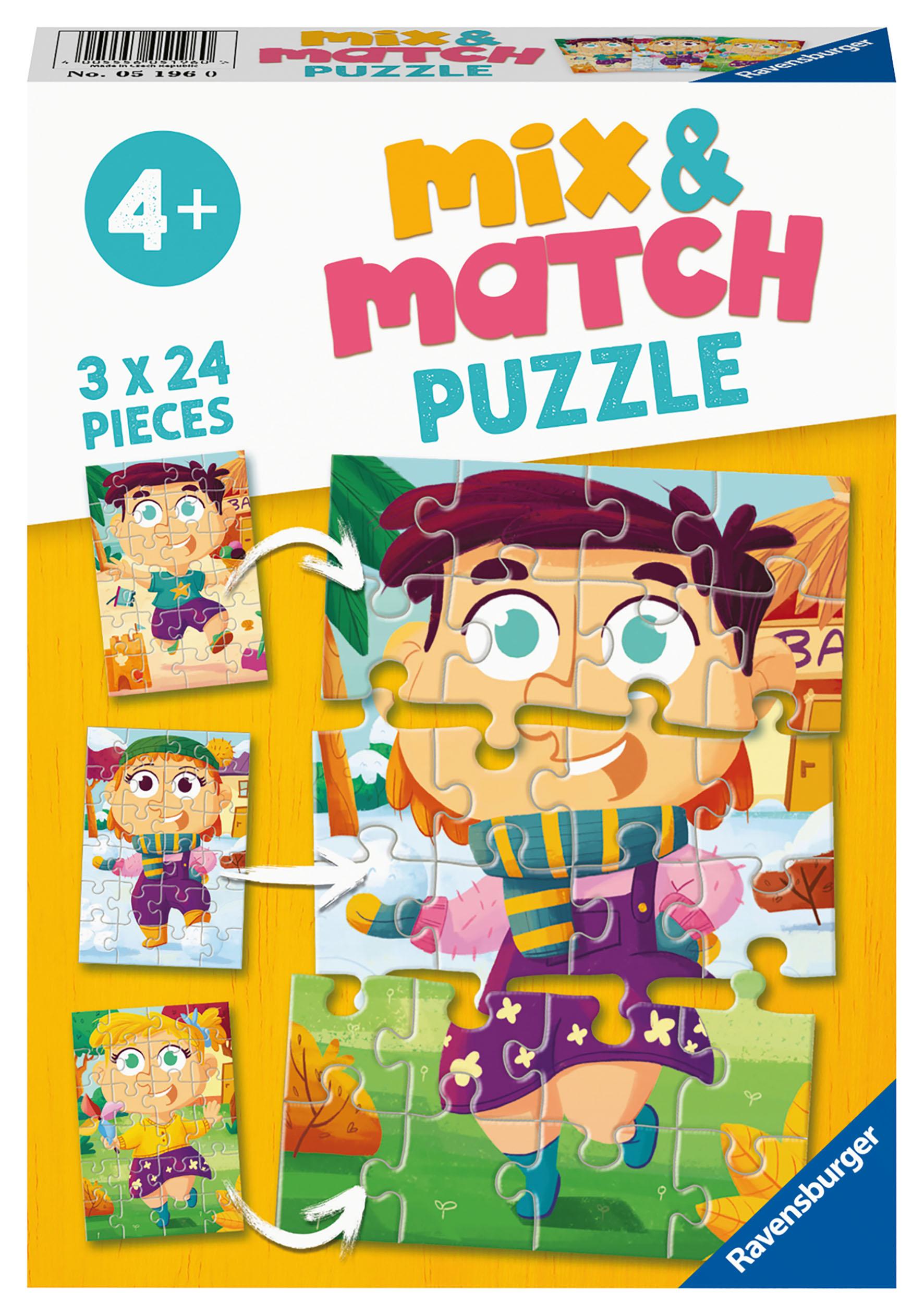 PUZZLE MIX MATCH FASHION 3X24