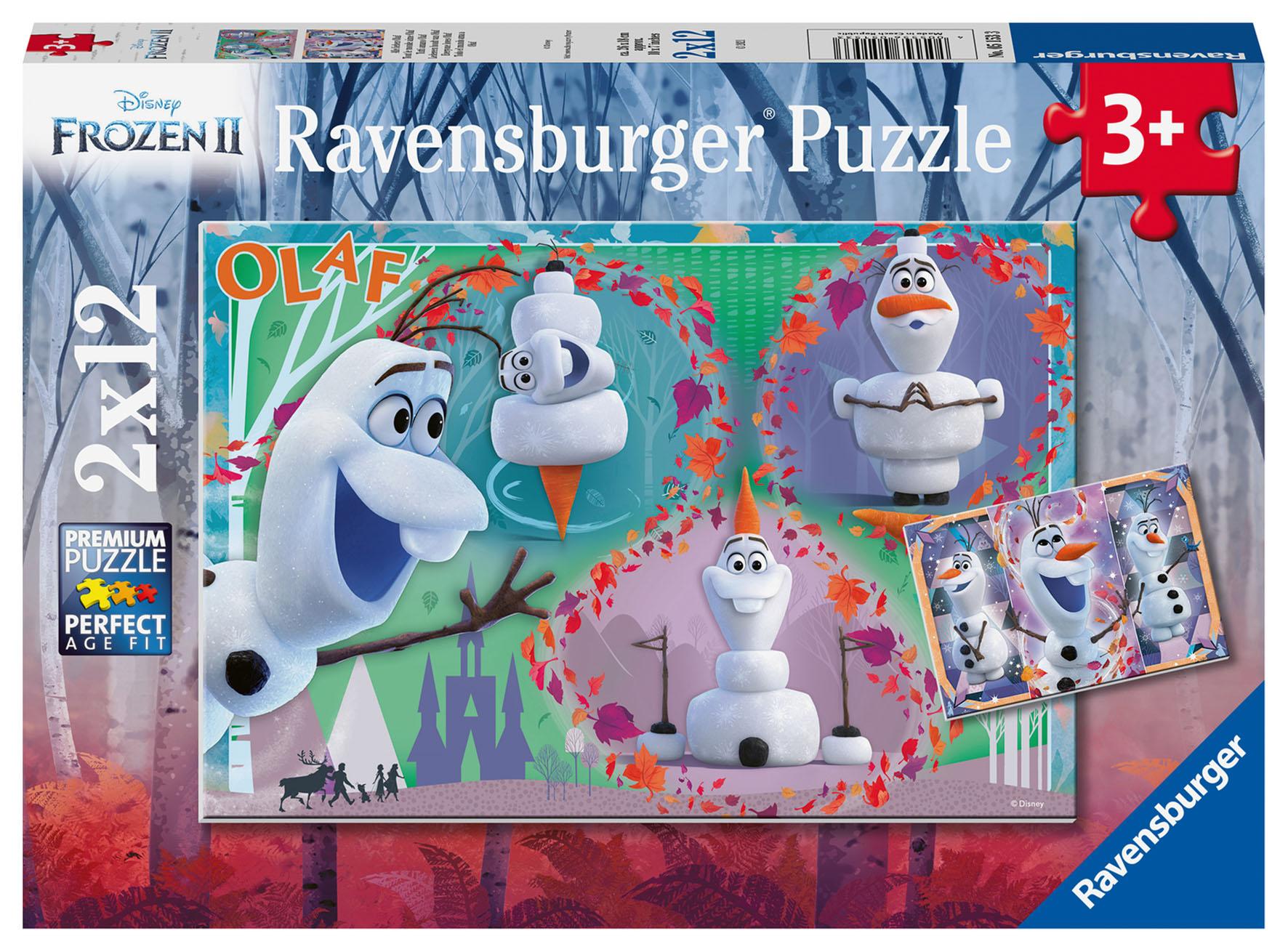 PUZZLE 2X12 FROZEN 2 OLAF