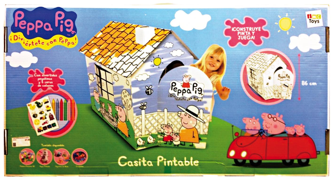 PEPPA PIG CASA DA COLORARE