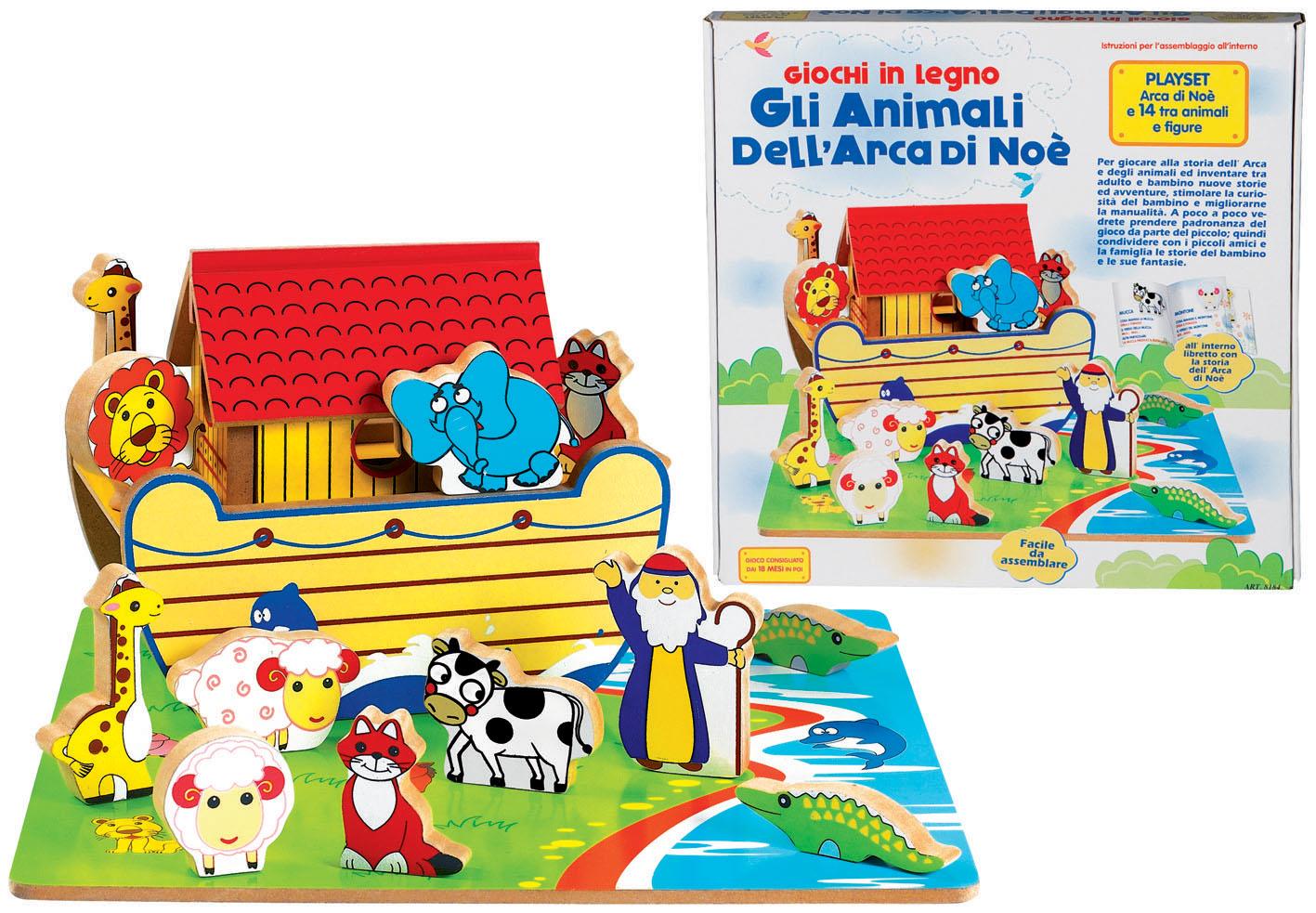 ANIMALI DELL ARCA DI NOE