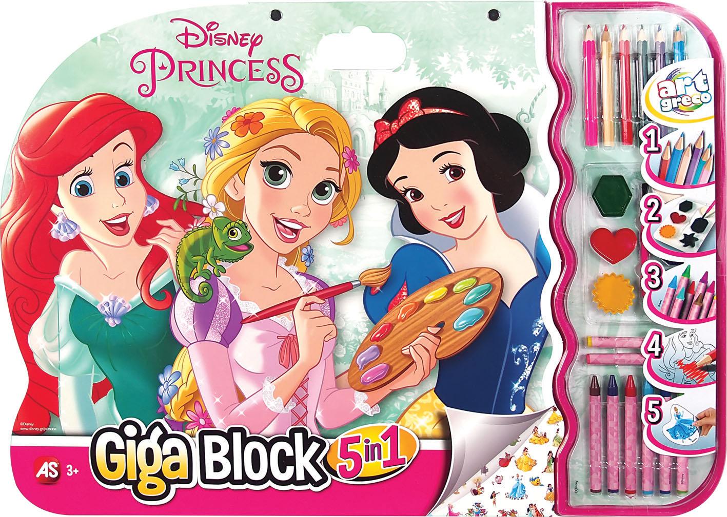 GIGA BLOCK PRINCESS 5 IN 1