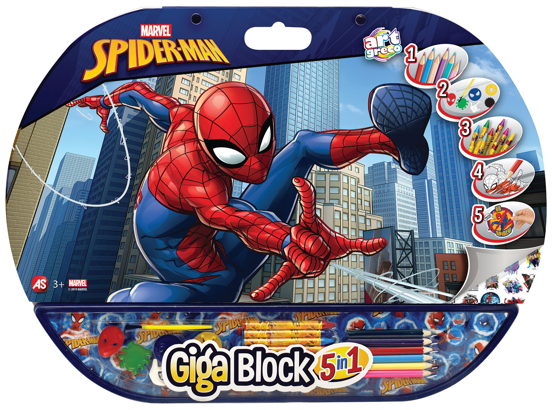 GIGA BLOCK SPIDERMAN 5 IN 1