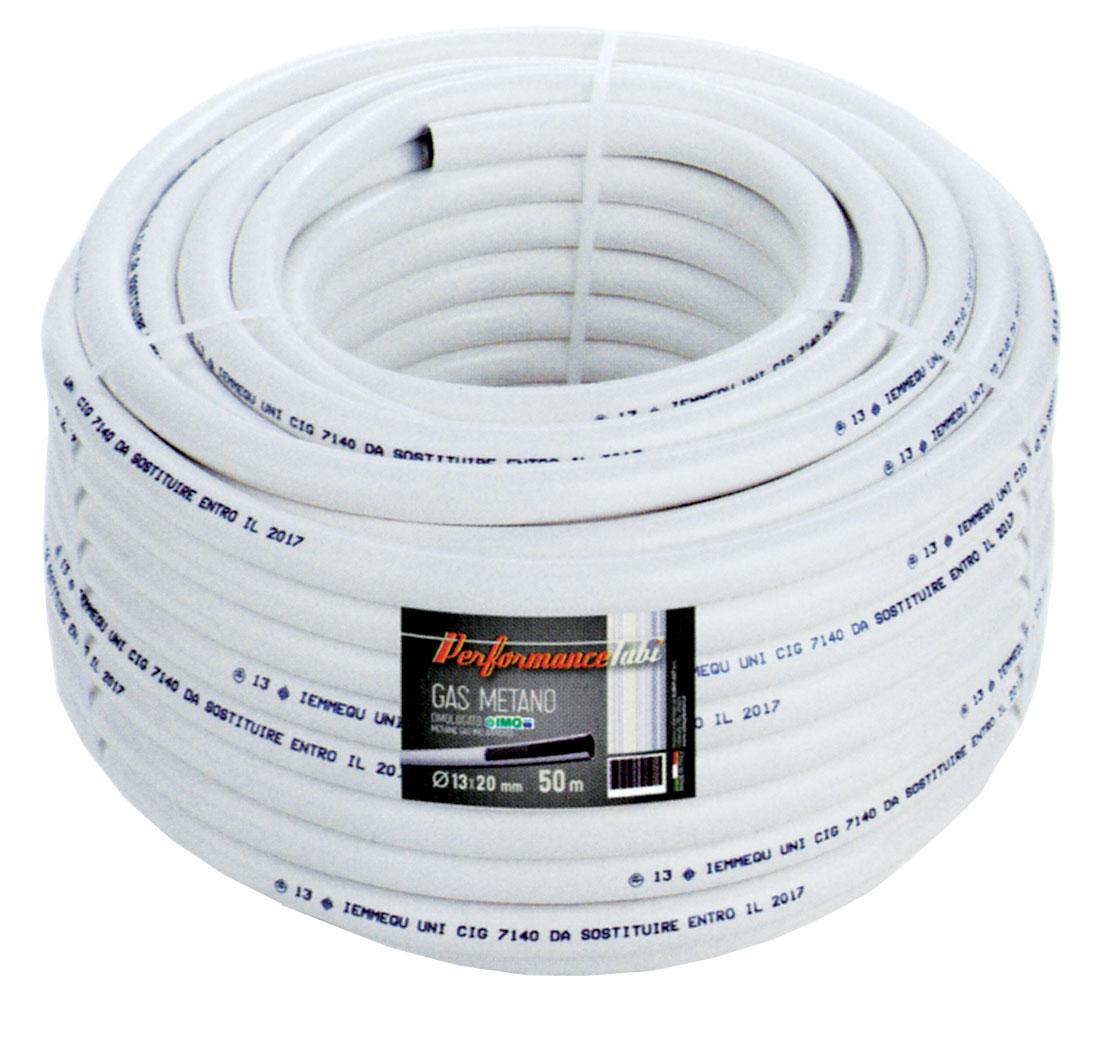 TUBO PVC X METANO 13X20-M 50