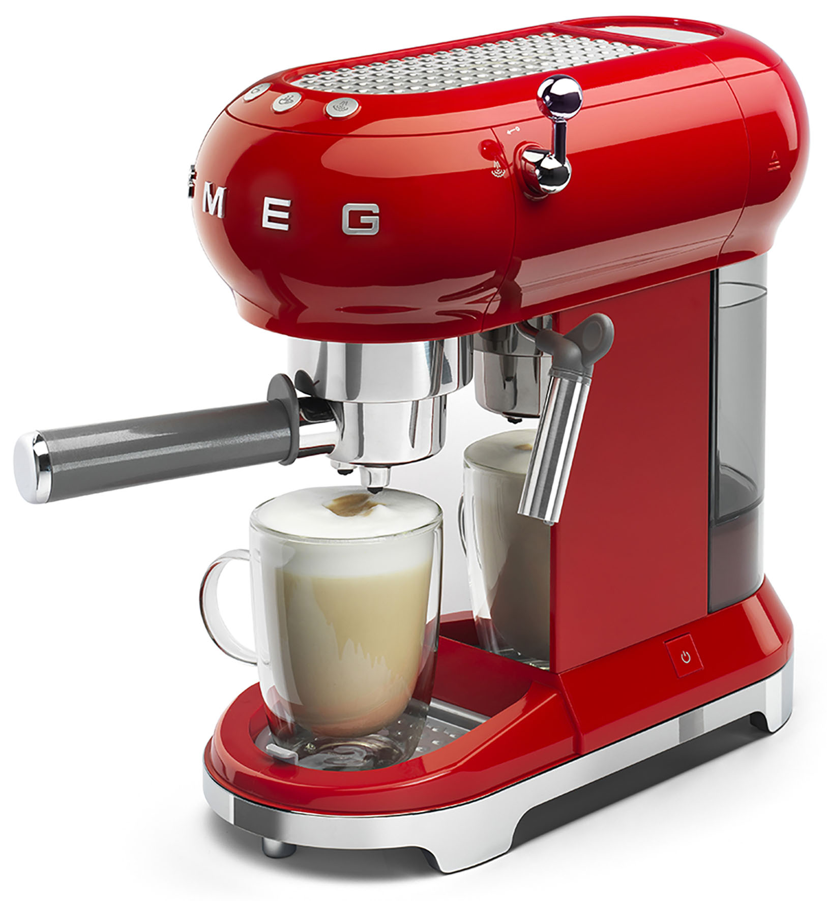 MACCHINA CAFFE  SMEG ROSSA