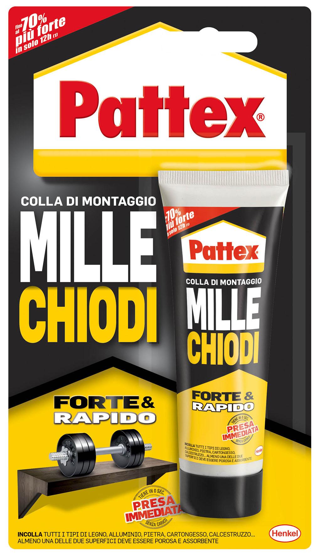 PATTEX MILLECHIODI TUBO 100 GR