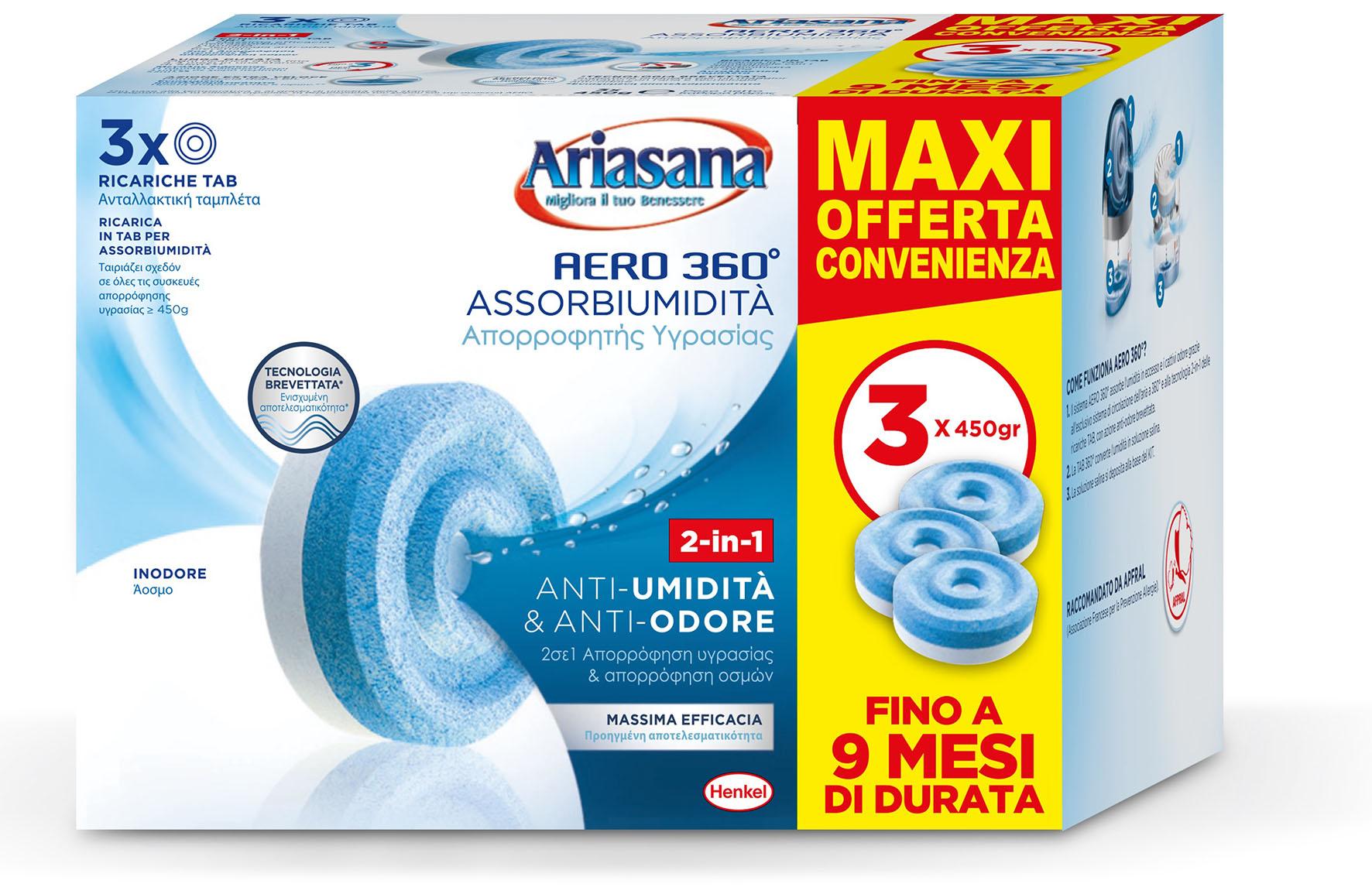 ARIASANA RIC AERO360 PZ3 PROMO