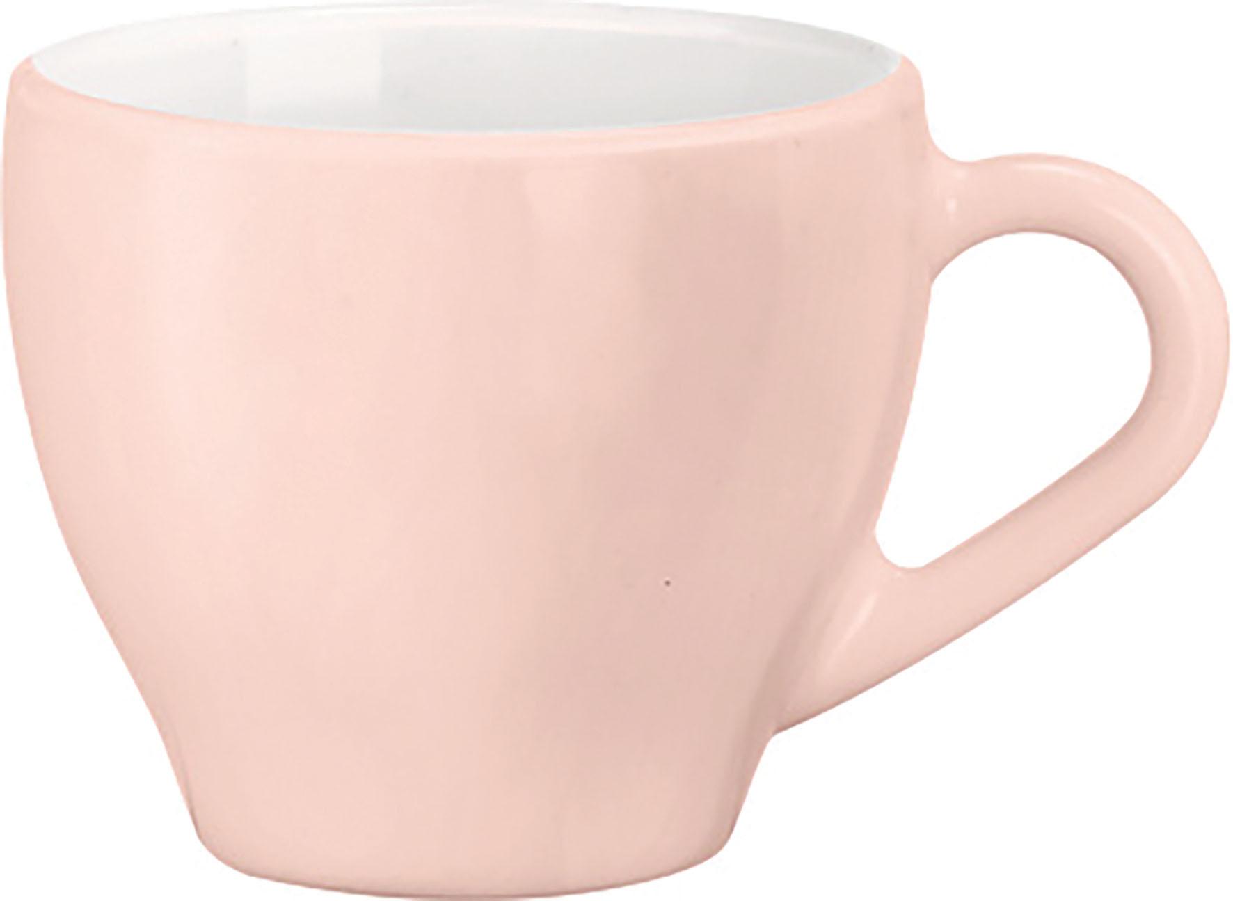 TAZZA CAFFE  PALETTE ROSA
