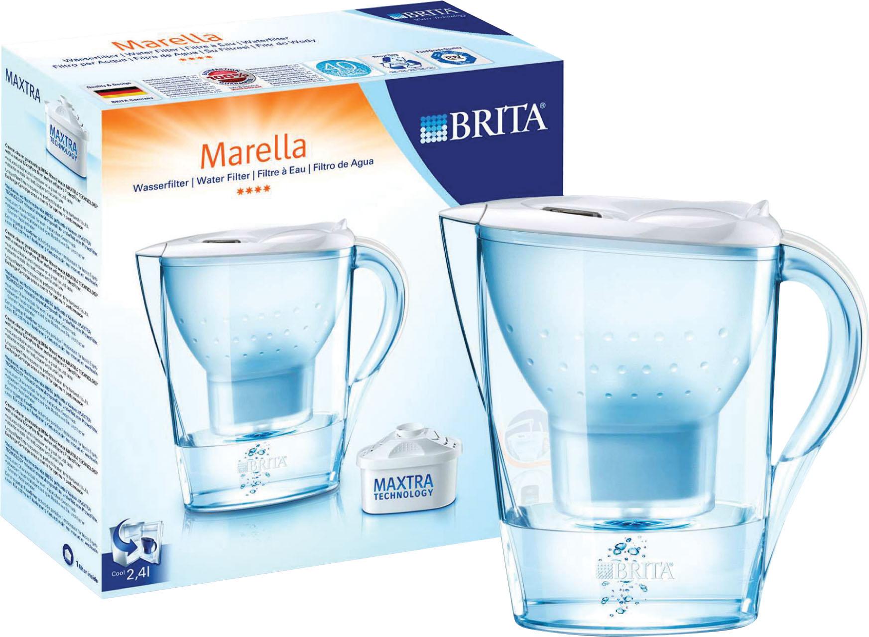CARAFFA FILTR 1 4 MAREL BIANCA
