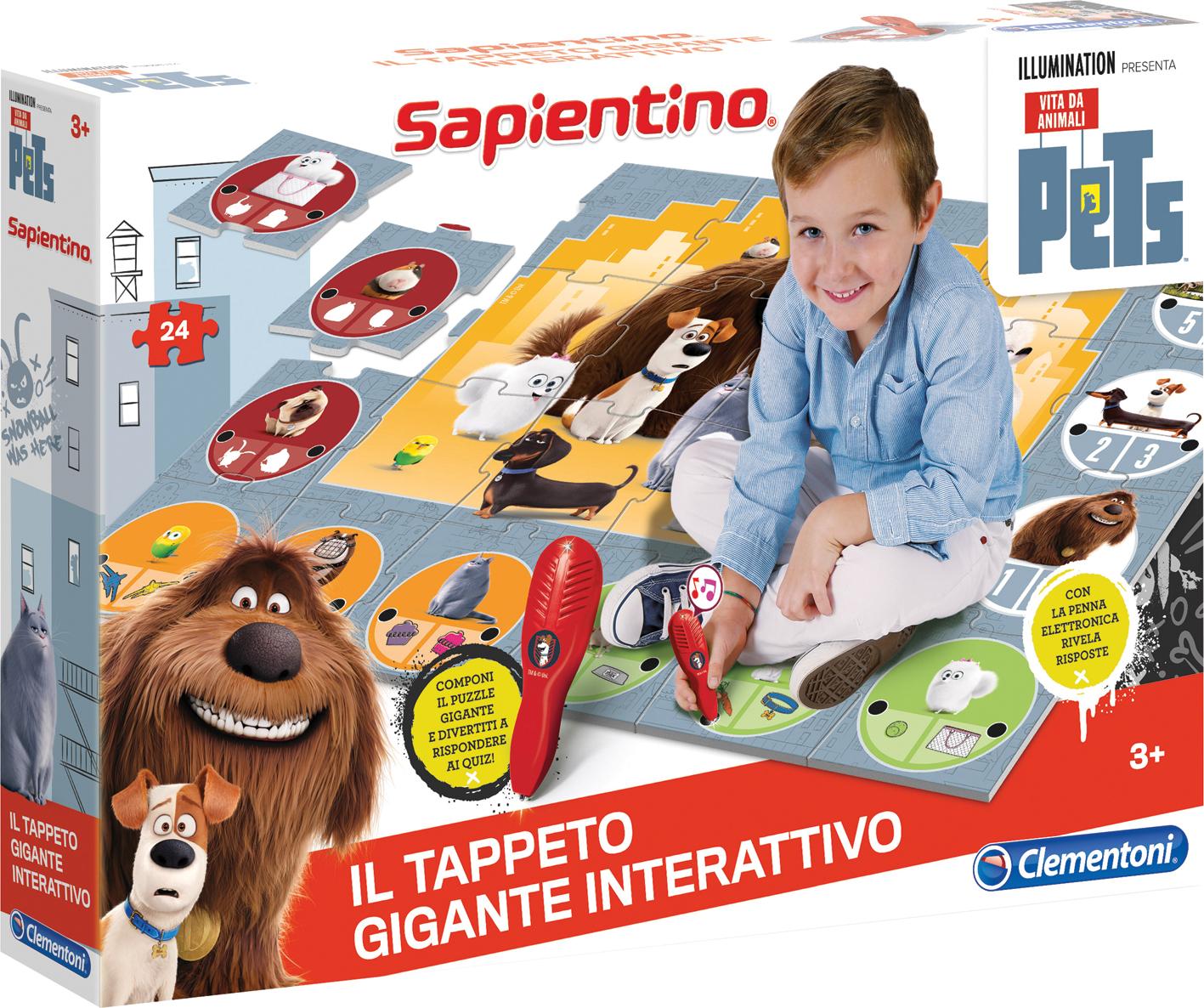 TAPPETO GIG INTERATTIVO PETS