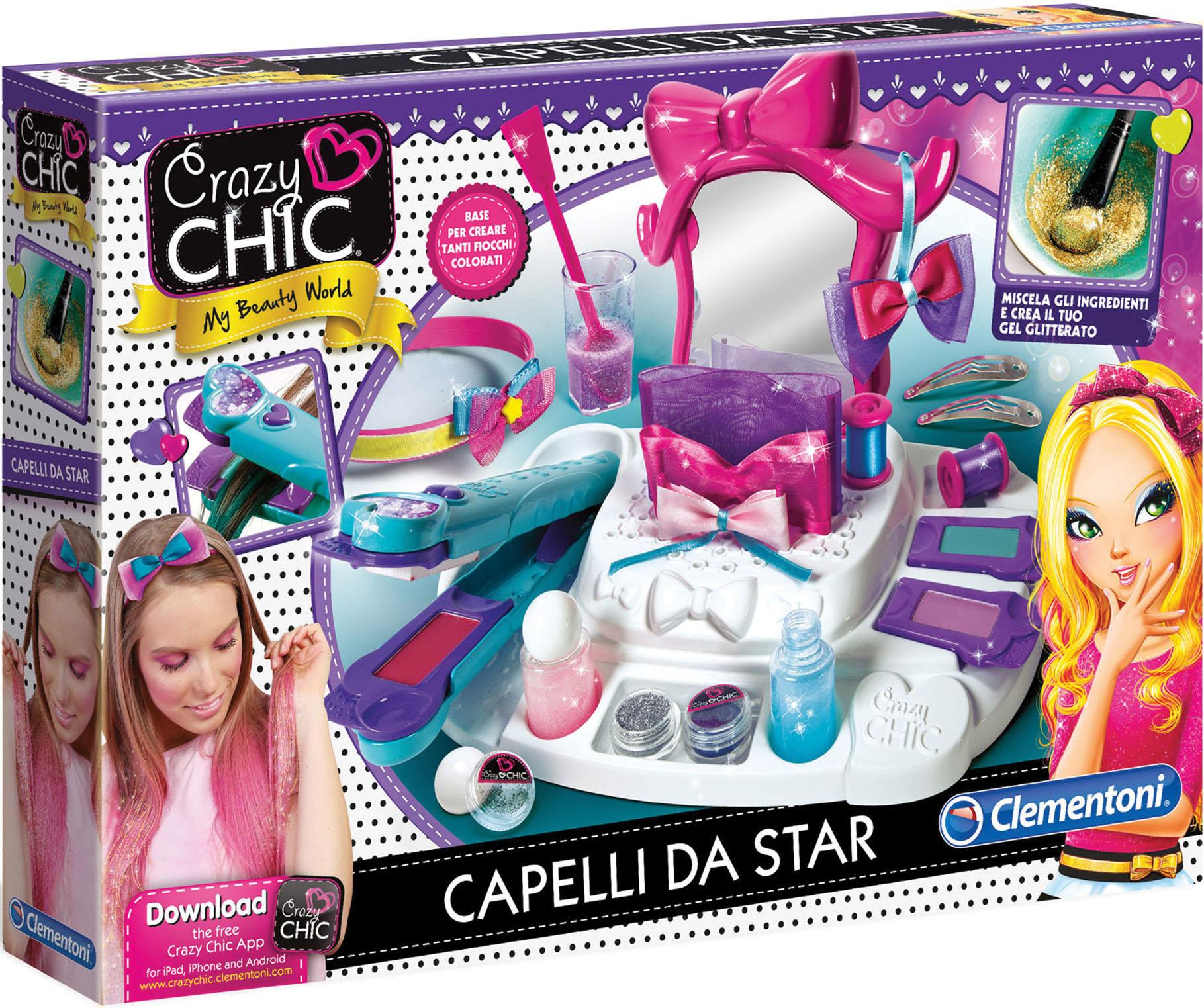 CRAZY CHIC CAPELLI STAR TV