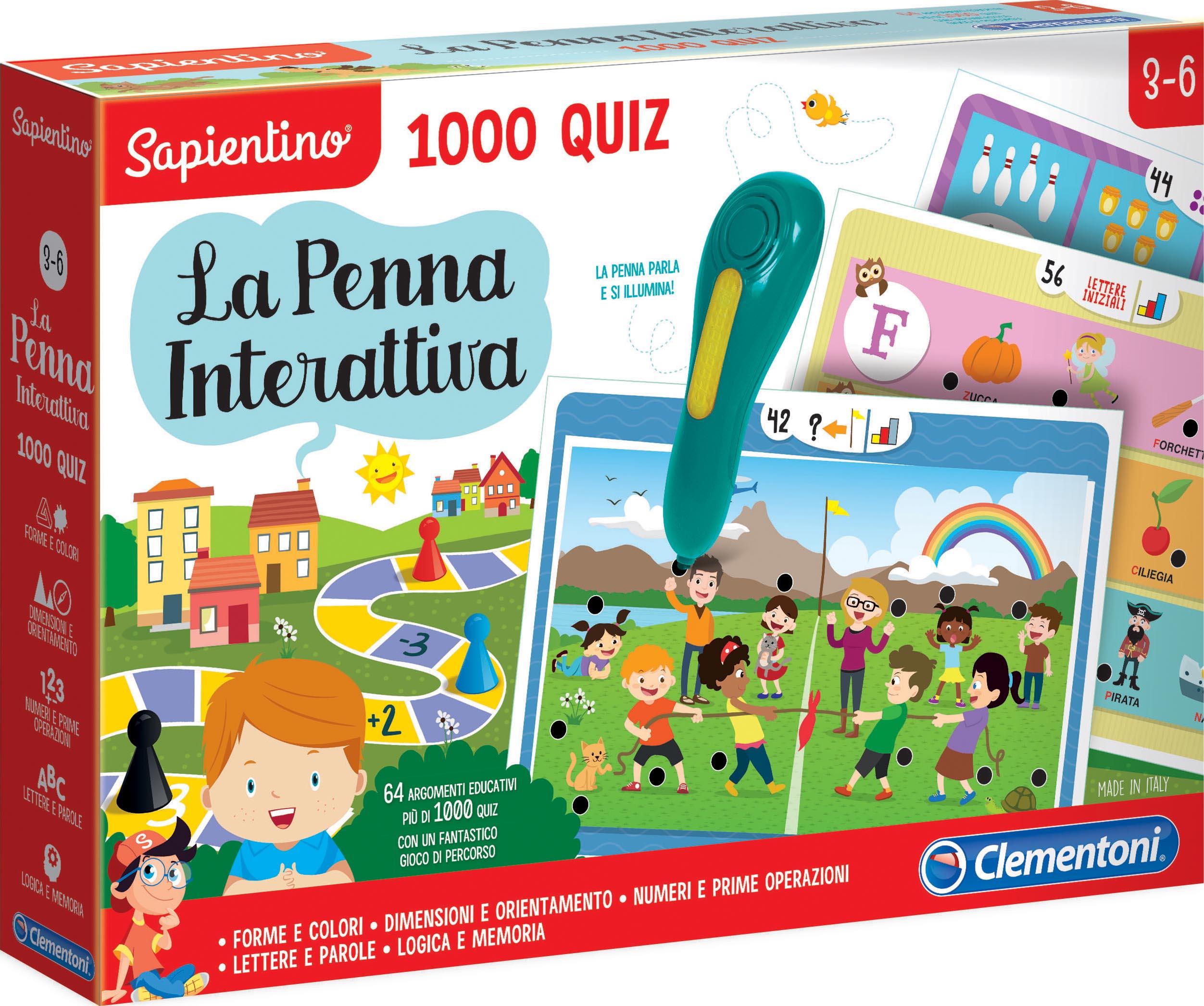 PENNA INTERATTIVA 1000 QUIZ
