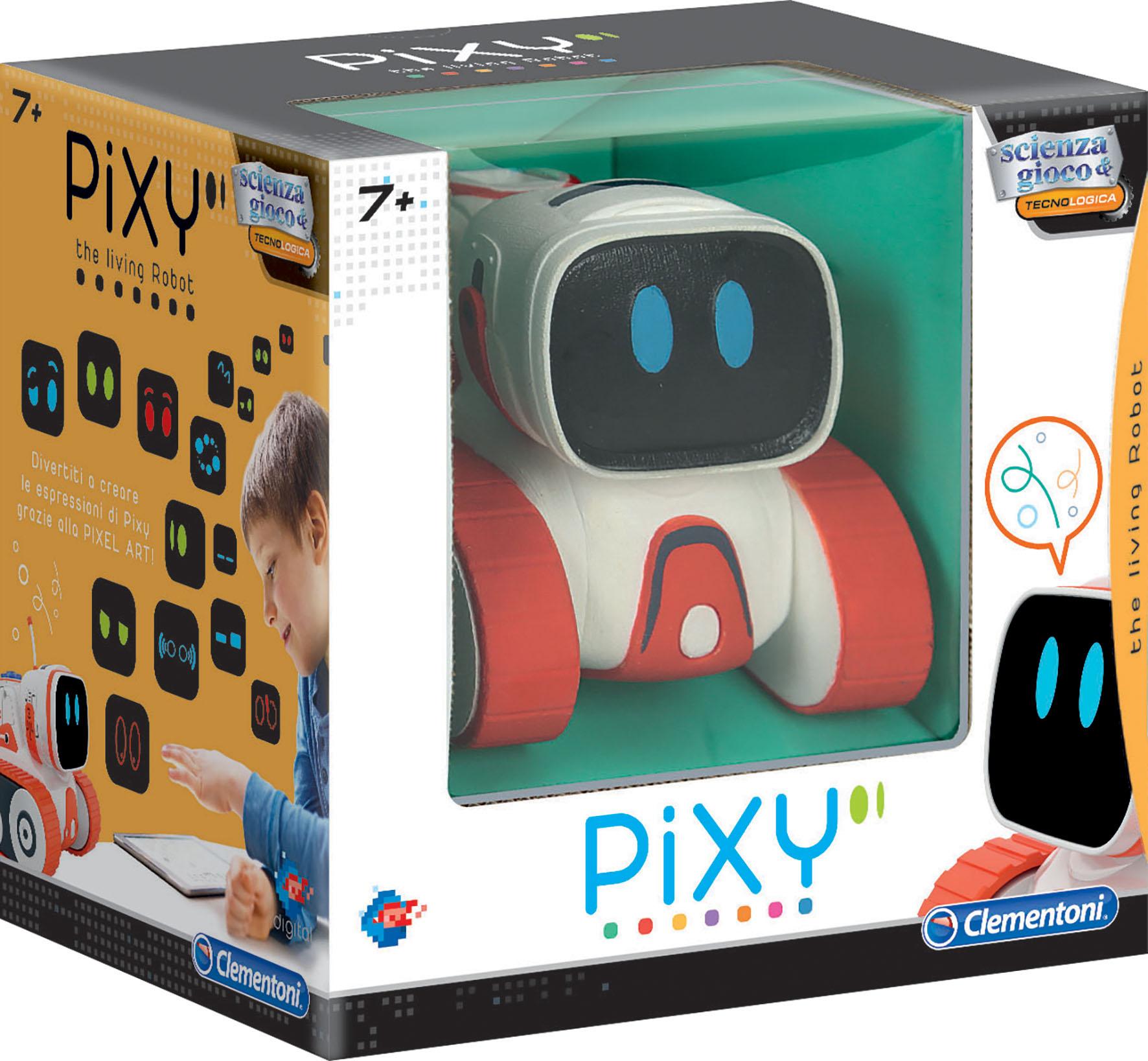 PIXY THE LIVING ROBOT TV
