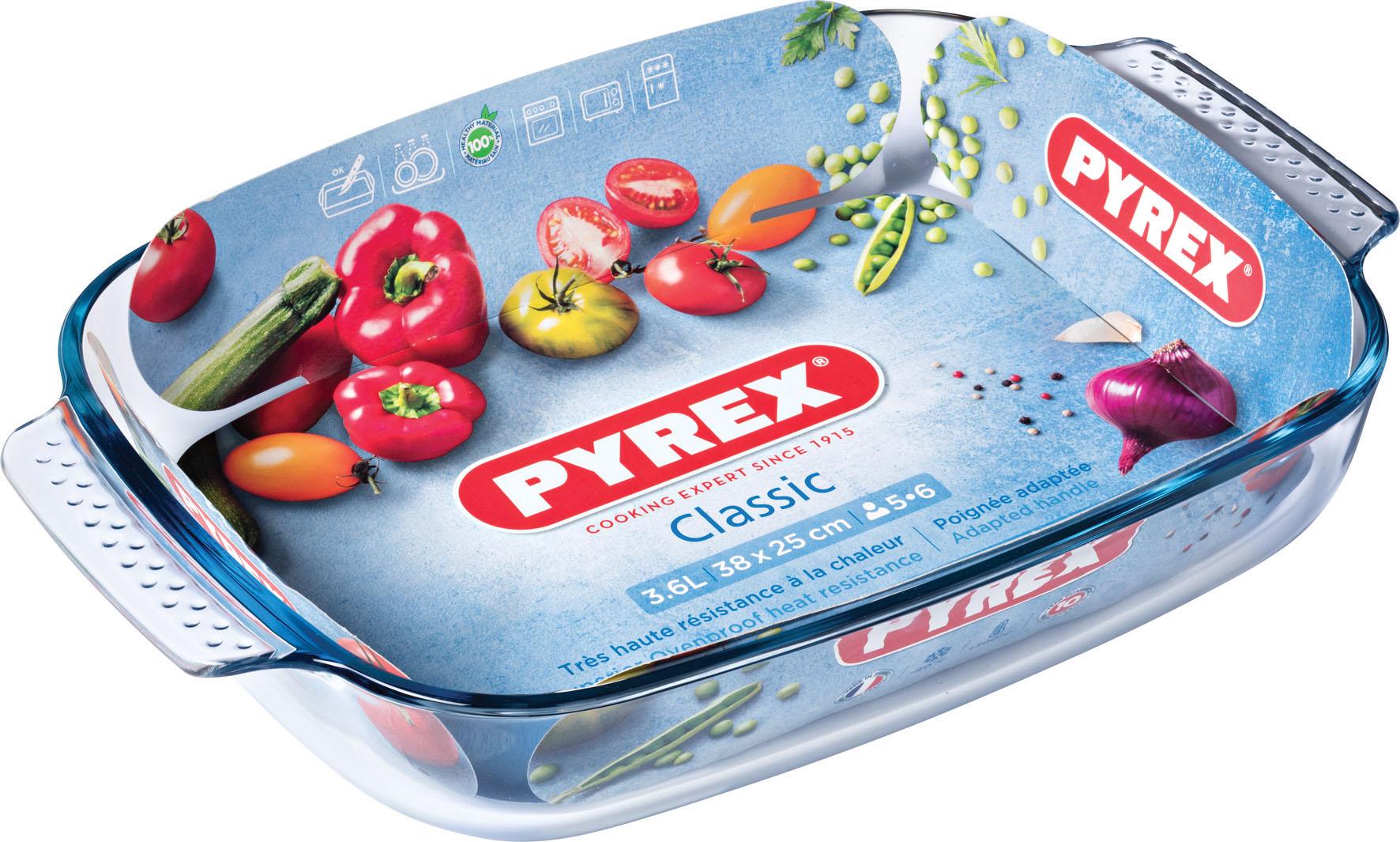 TEGLIA RETT 38X25 C M PYREX