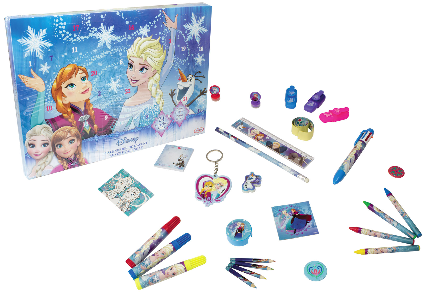 FROZEN CALENDARIO DELL AVVENTO