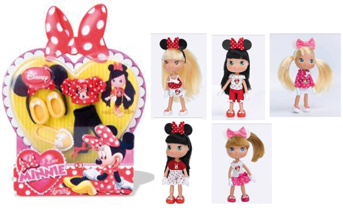 VESTITI MODA I LOVE MINNIE
