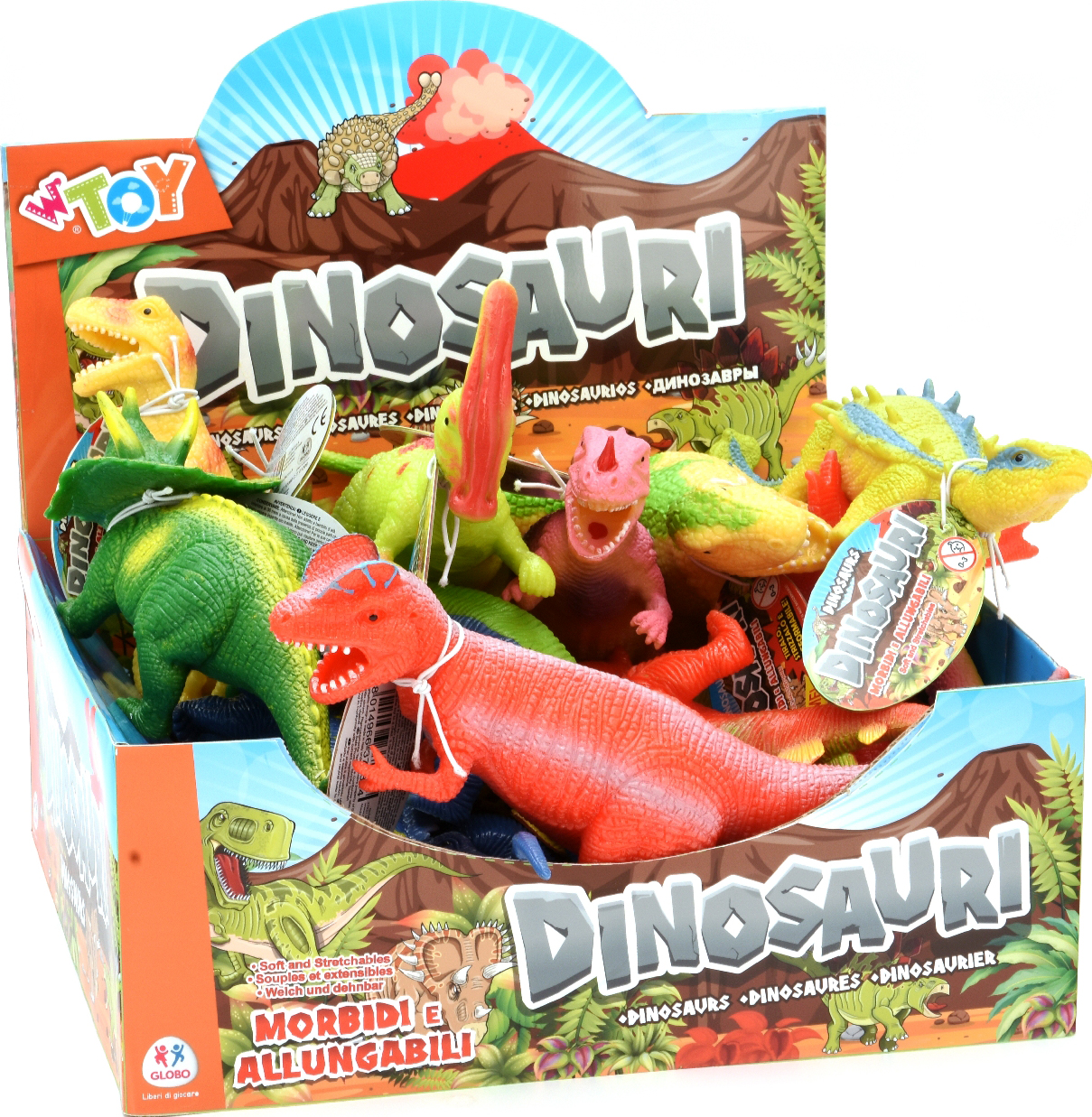 DINOSAURI ALLUNGABILI DISPLAY