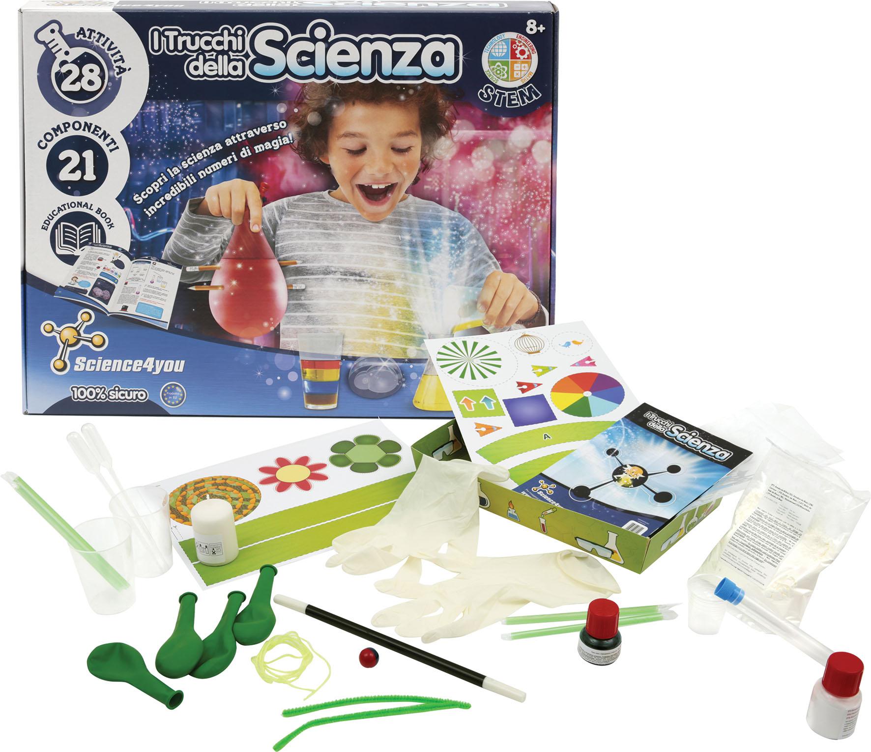 SCIENCE4YOU I TRUCCHI SCIENZA