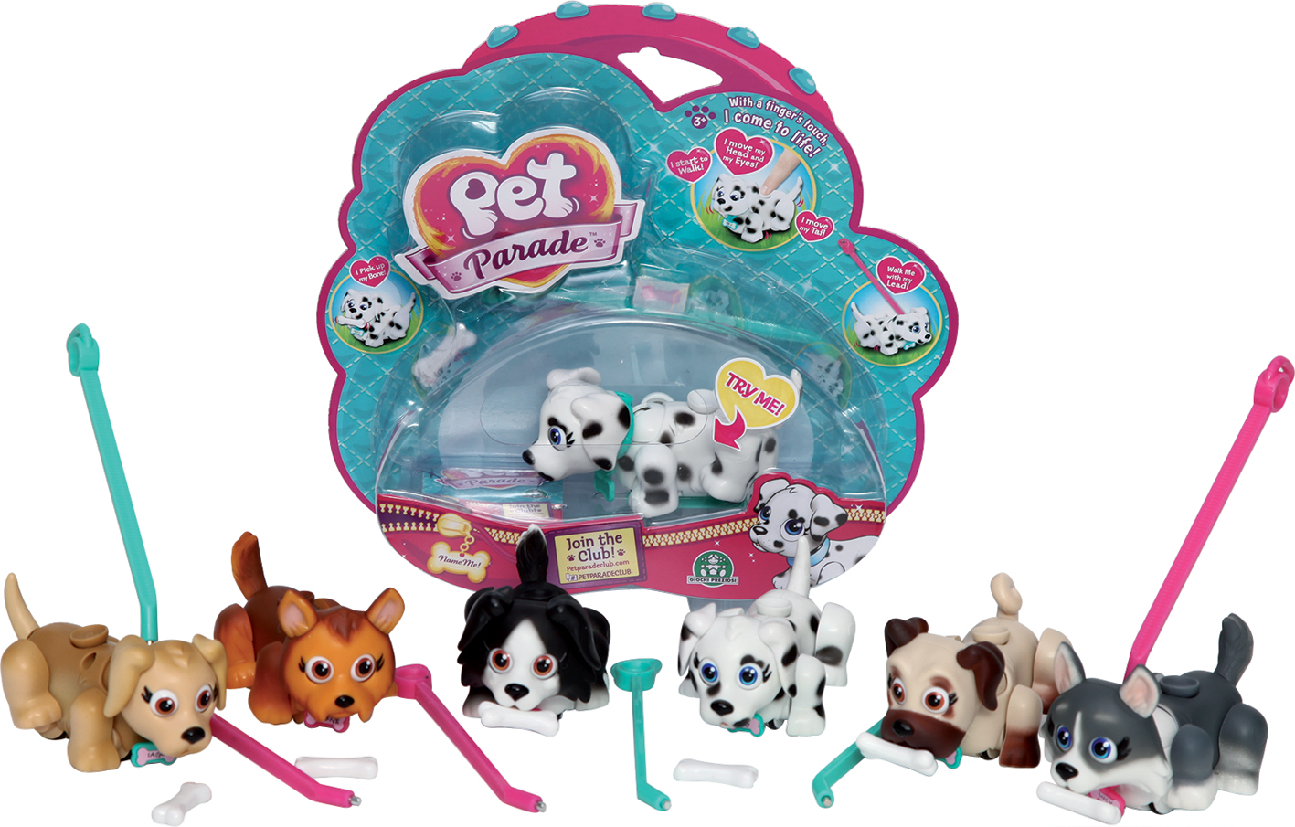 PET PARADE BLISTER SINGOLO TV