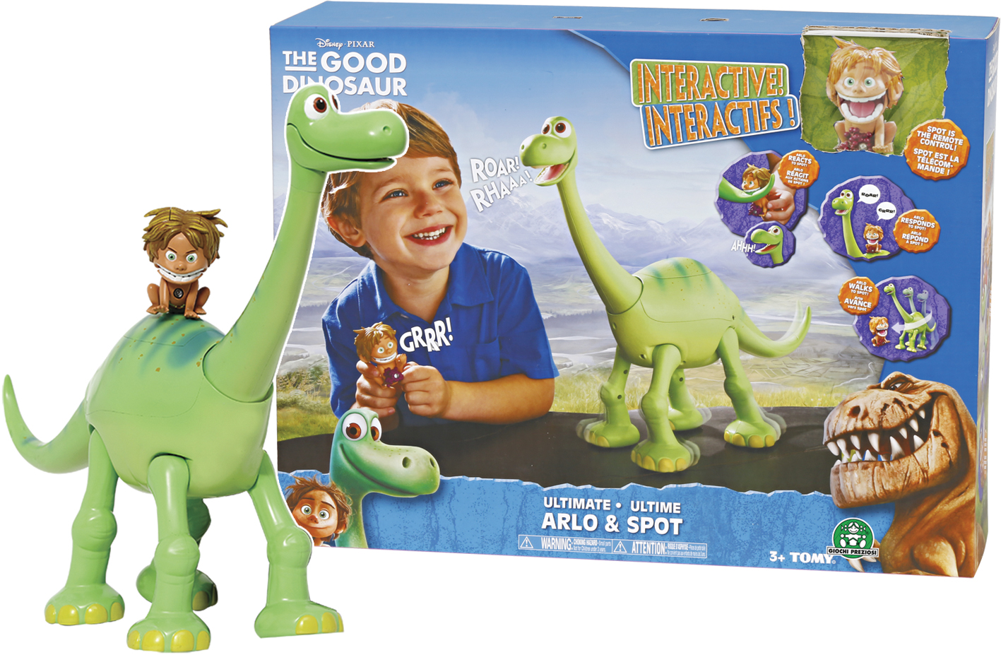 GOOD DINOSAURS ARLO INTERAT TV