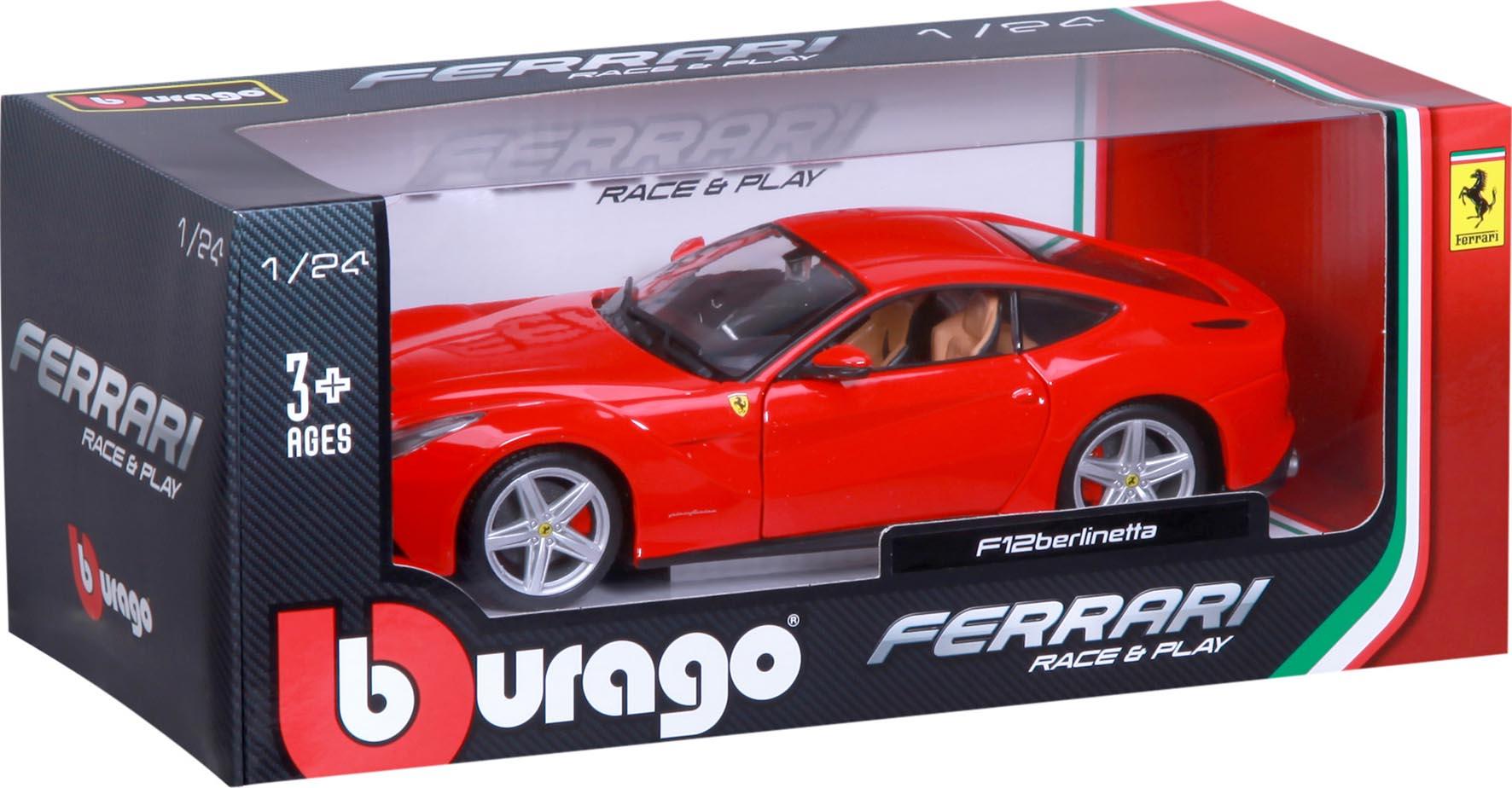 D C FERRARI F40 RED 1 24