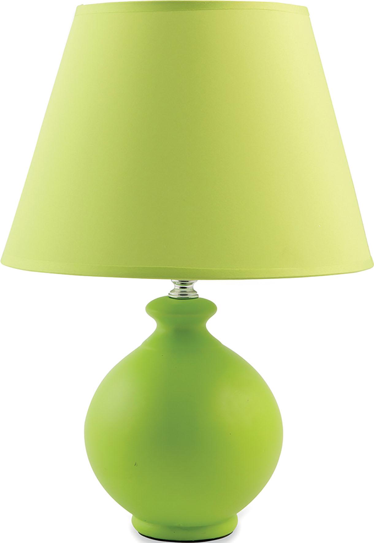 LAMPADA BASE ROTONDA VERDE