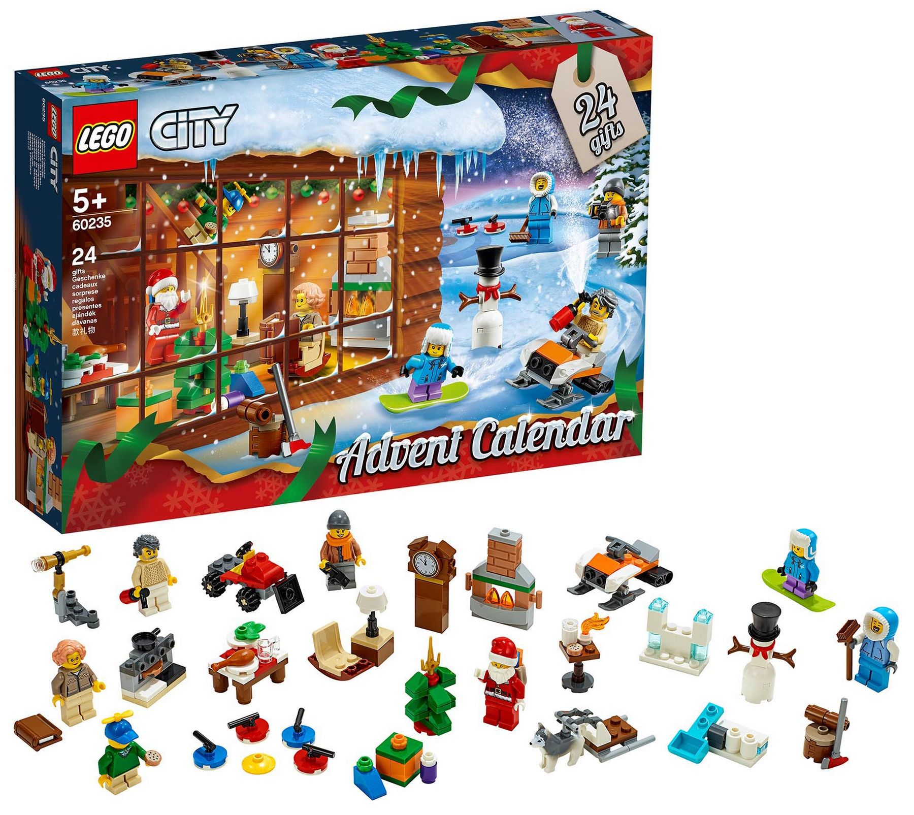 CALENDARIO AVVENTO LEGO CITY