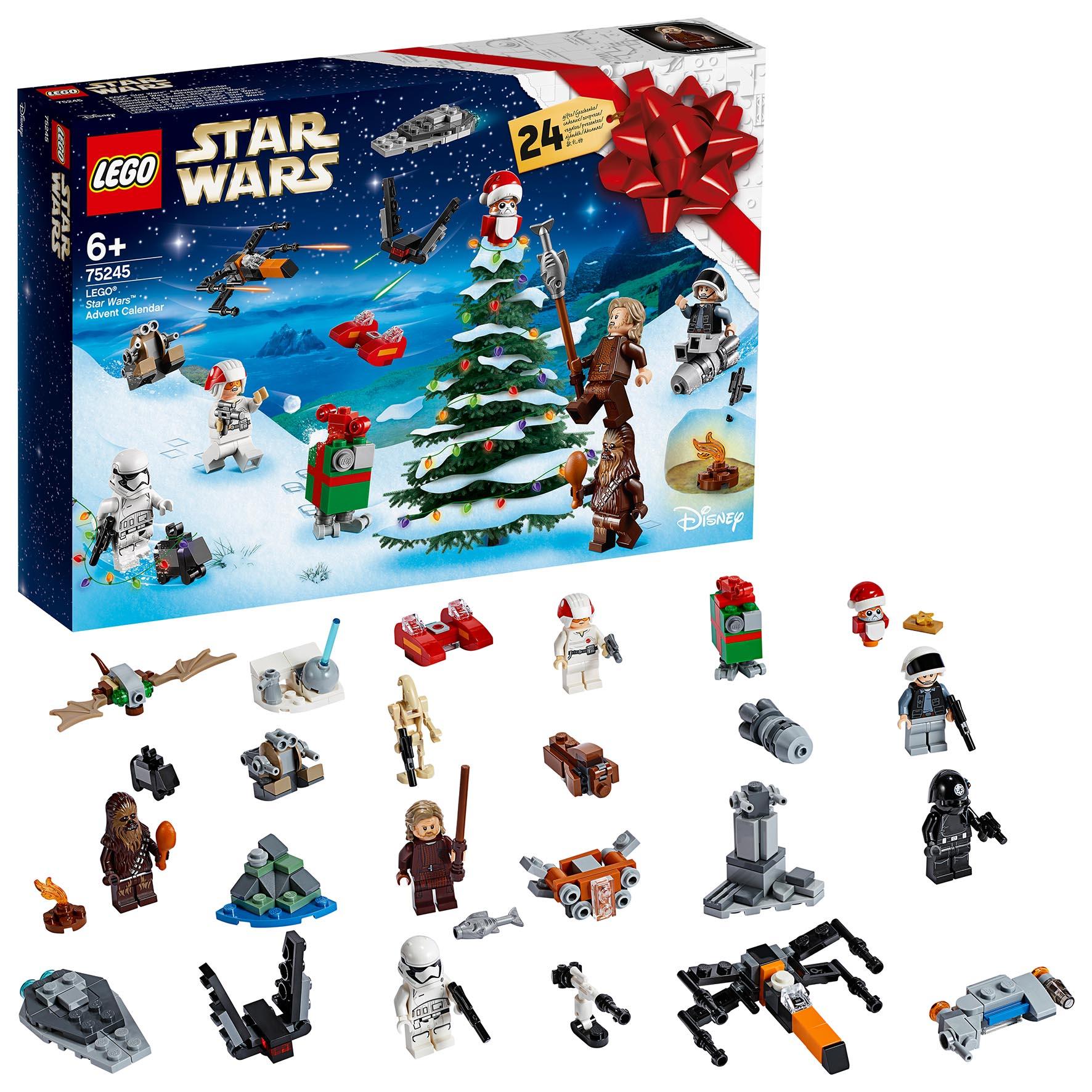 CALENDARIO AVVENTO LEGO STAR W