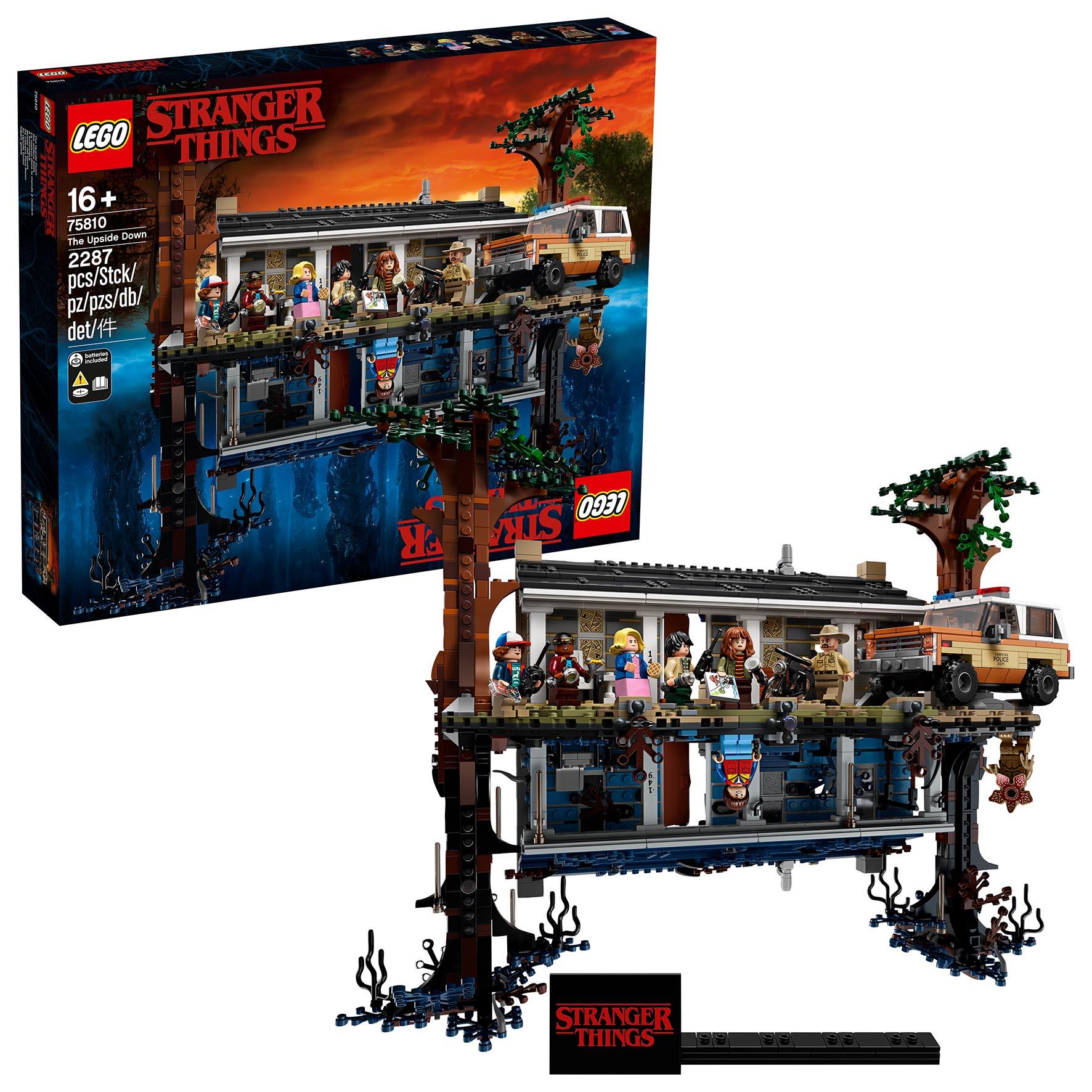 CASA DI STRANGER THINGS LEGO