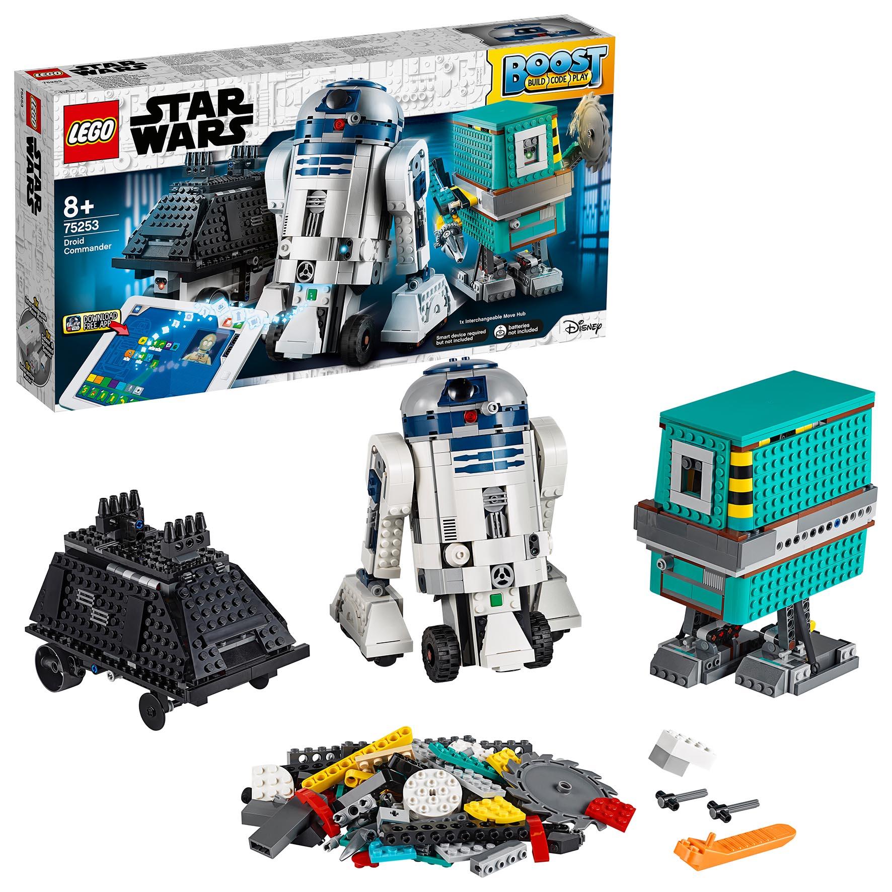 R2D2 DROIDE DI STAR WARS LEGO