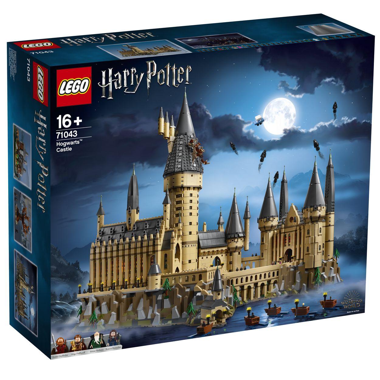 CASTELLO DI HOGWARTS LEGO HARR