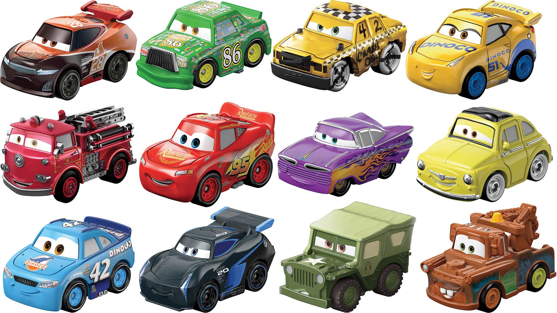 CARS MINI RACERS ASS  TV