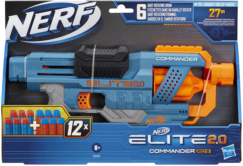 NERF ELITE 2 0 COMMAND RD6TV